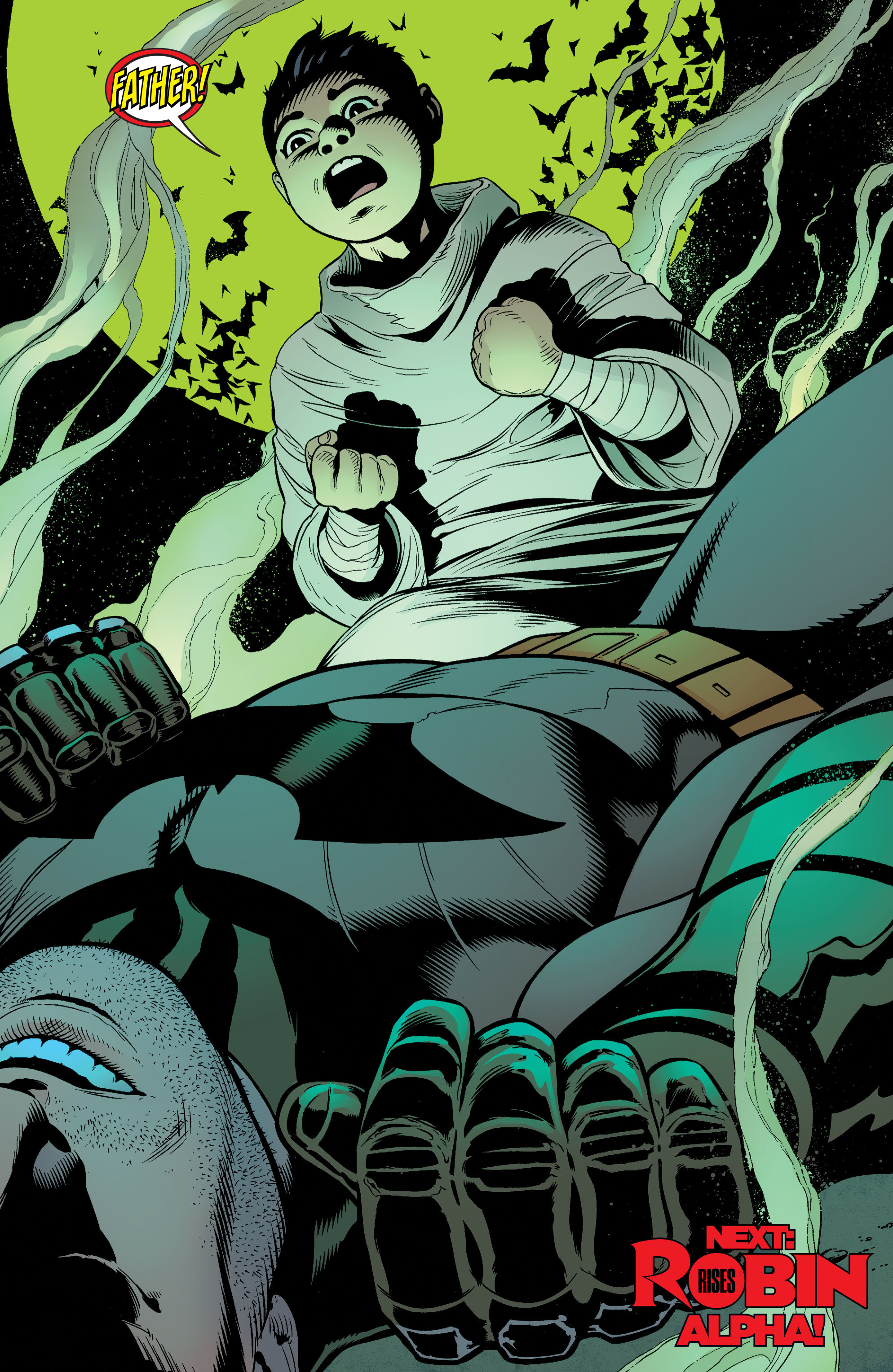 Read online Batman and Robin (2011) comic -  Issue #37 - 22