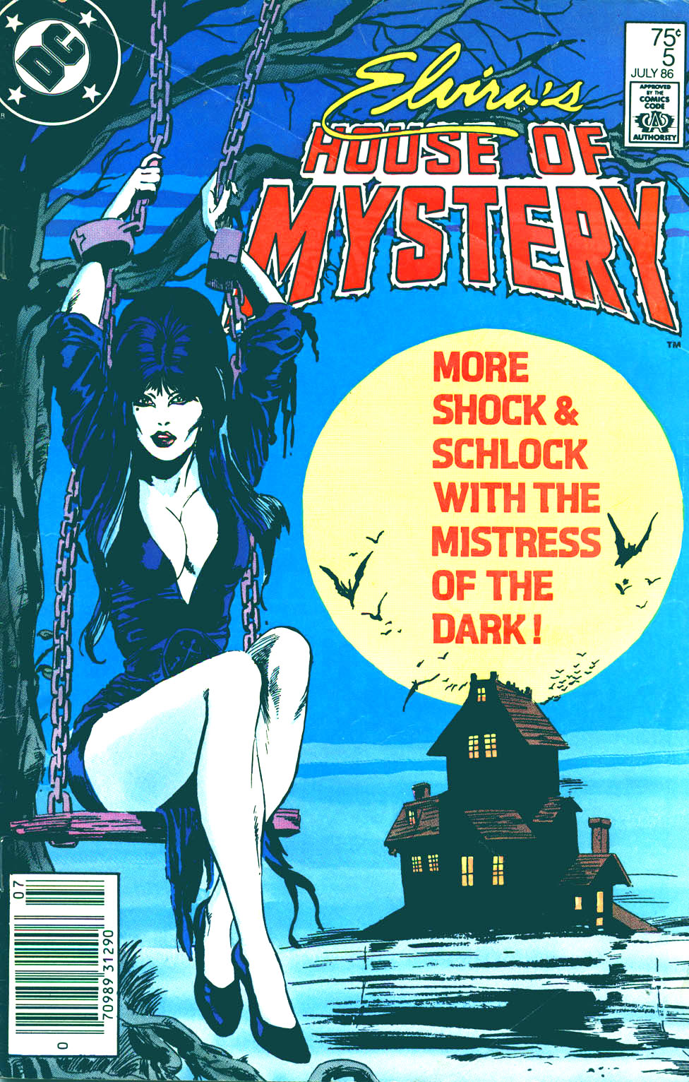 Elvira's House of Mystery issue 5 - Page 1