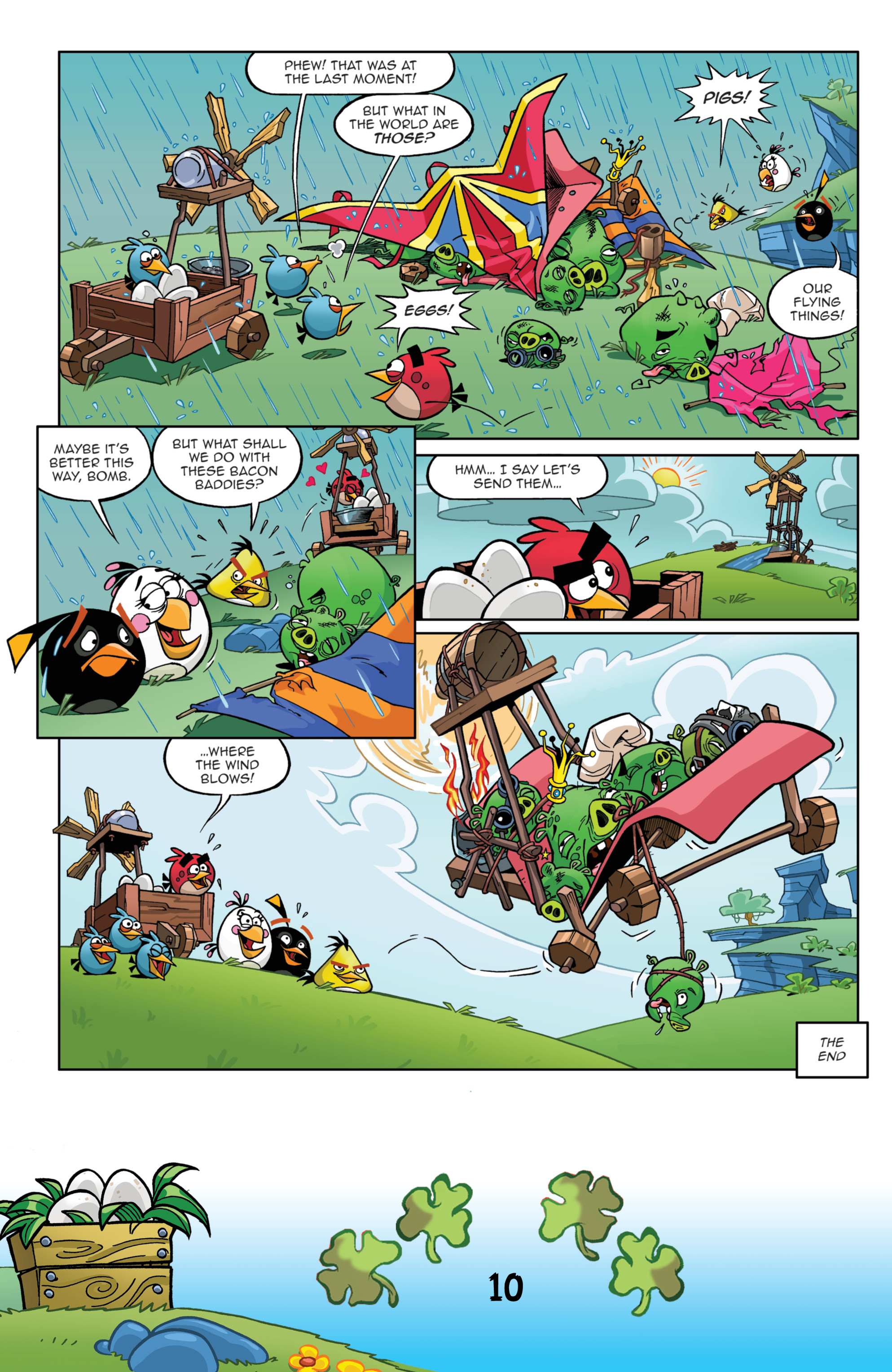 Read online Angry Birds Comics (2016) comic -  Issue #3 - 12
