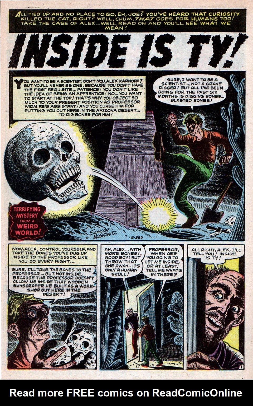 Read online Adventures into Weird Worlds comic -  Issue #30 - 12