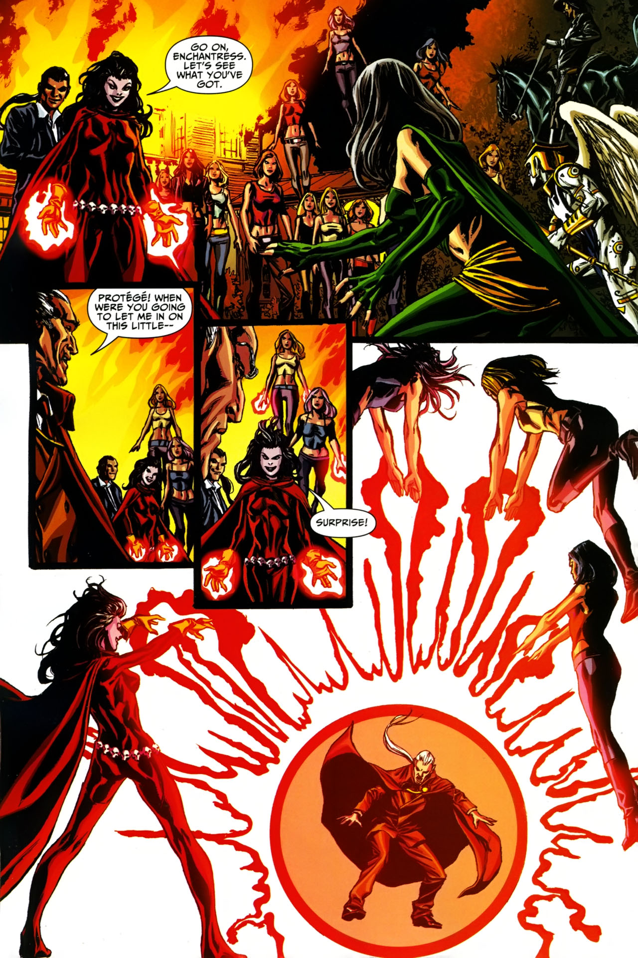 Read online Shadowpact comic -  Issue #19 - 17