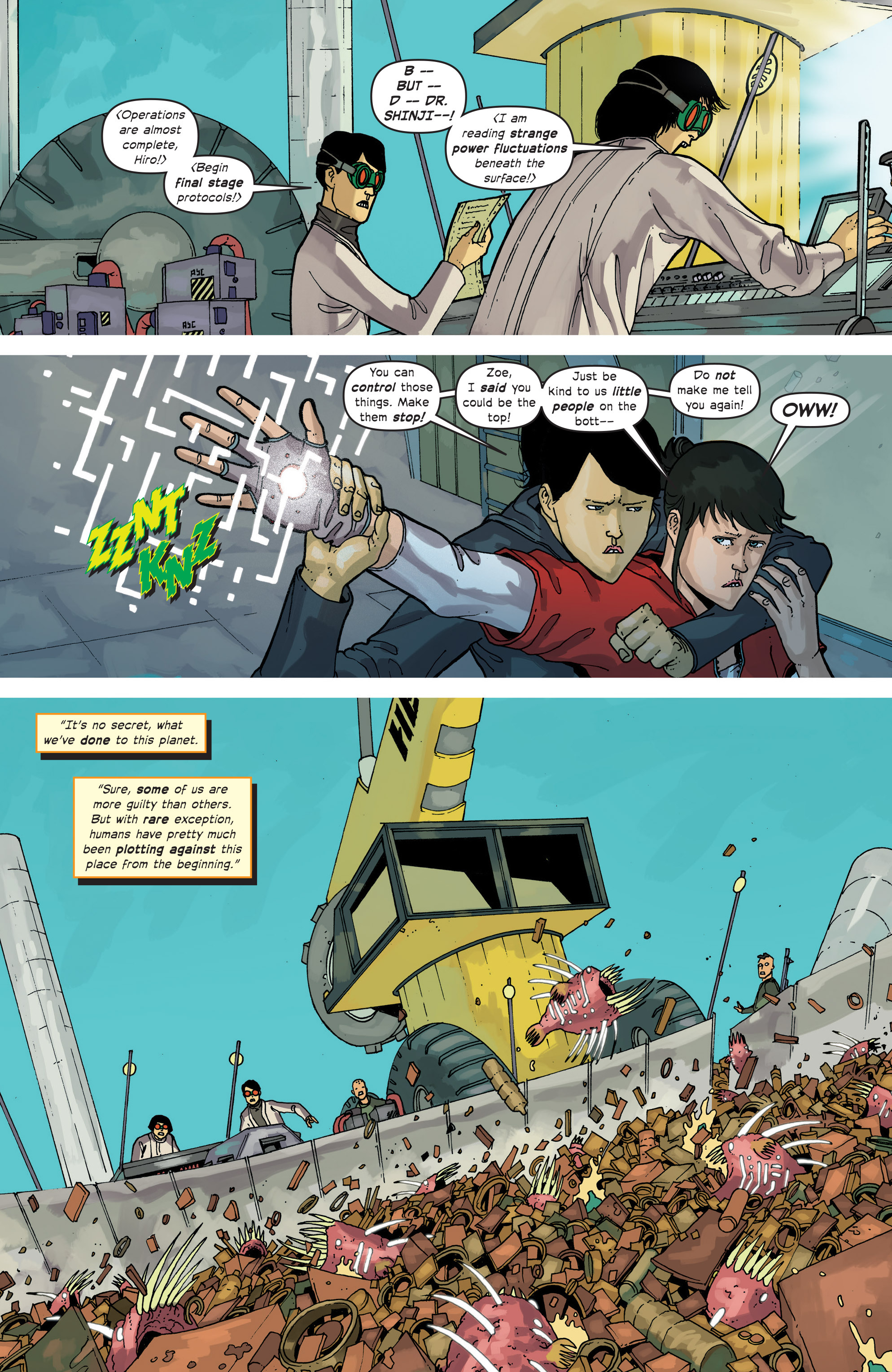 Read online Great Pacific comic -  Issue #12 - 12