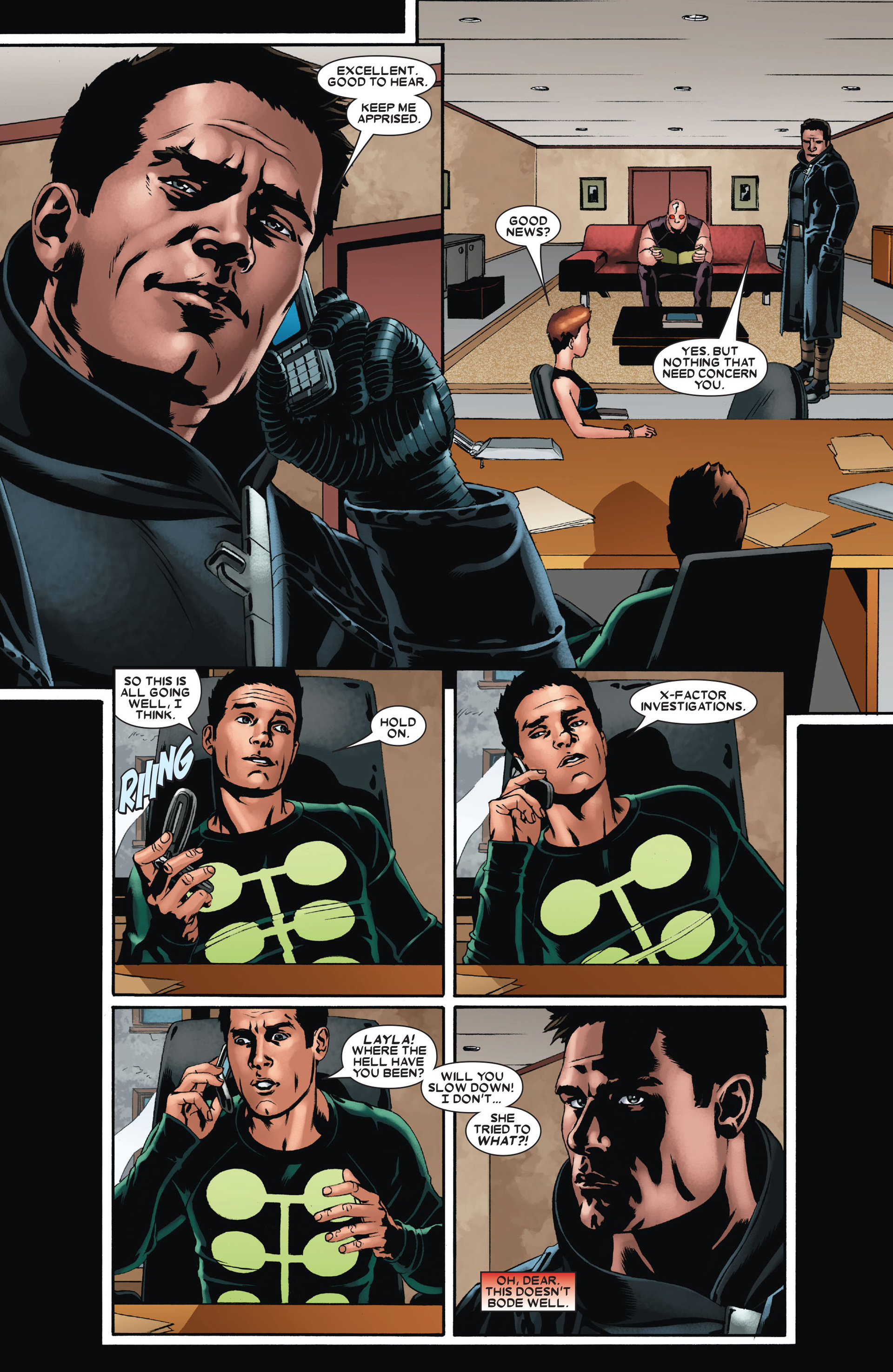 Read online X-Factor (2006) comic -  Issue #23 - 18
