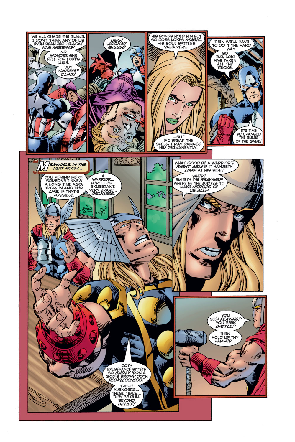 Read online Avengers (1996) comic -  Issue #11 - 7