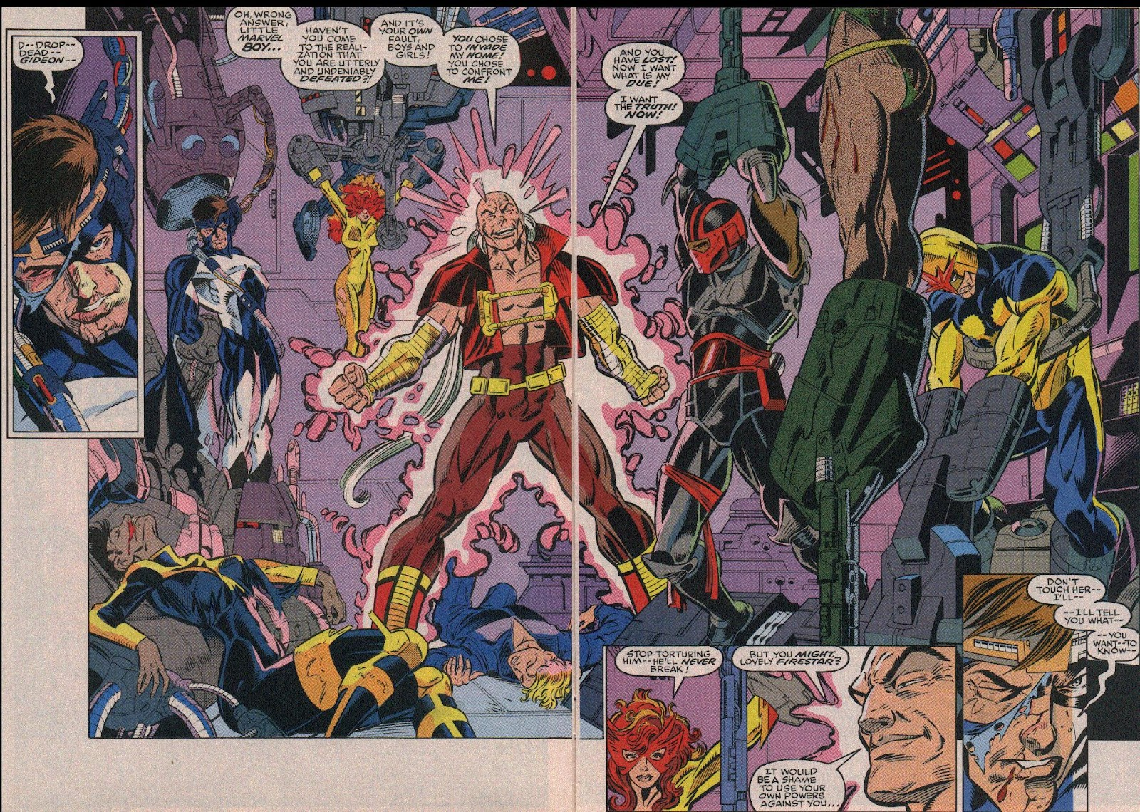 The New Warriors Issue #19 #23 - English 3