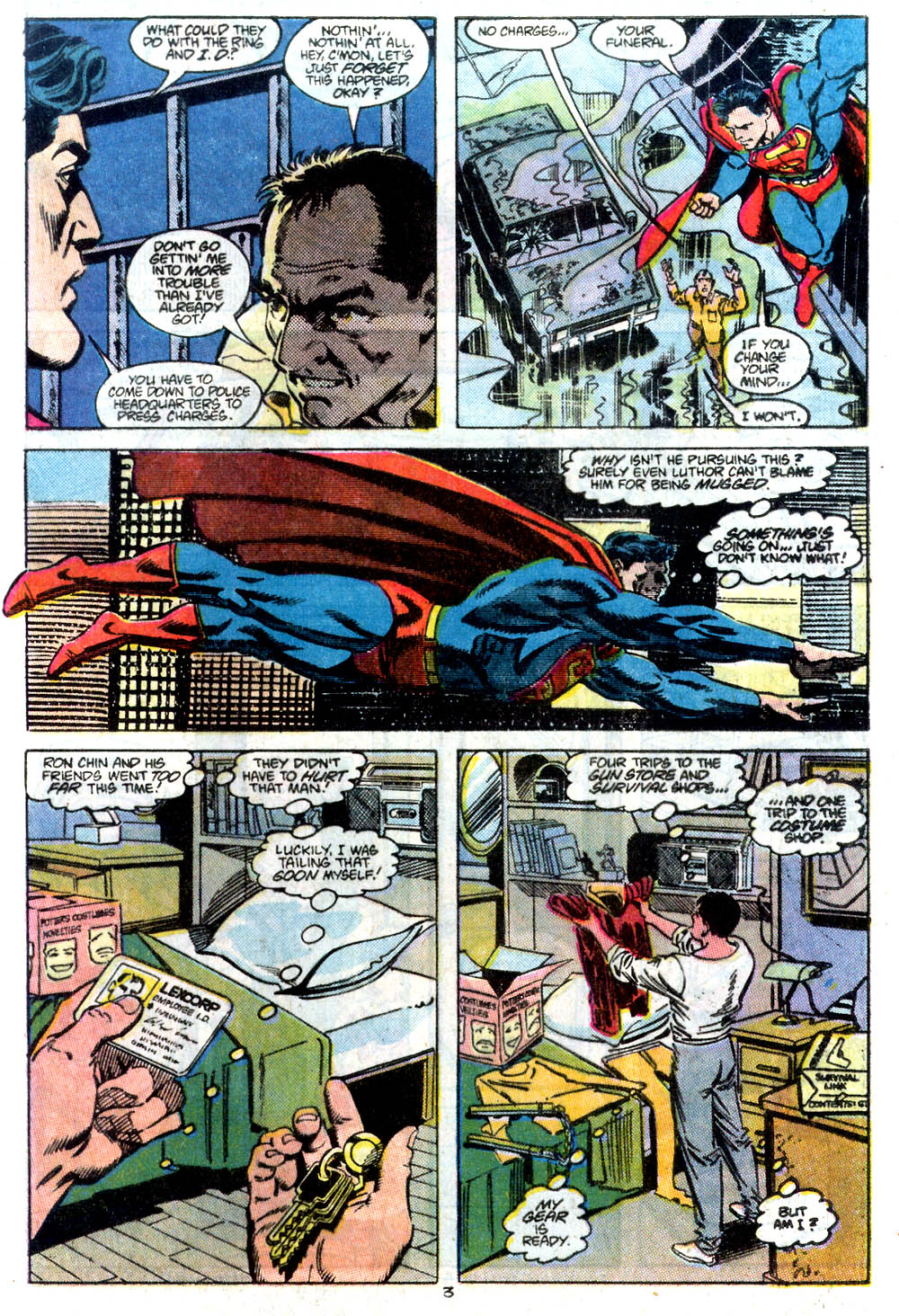 Read online Adventures of Superman (1987) comic -  Issue #434 - 4