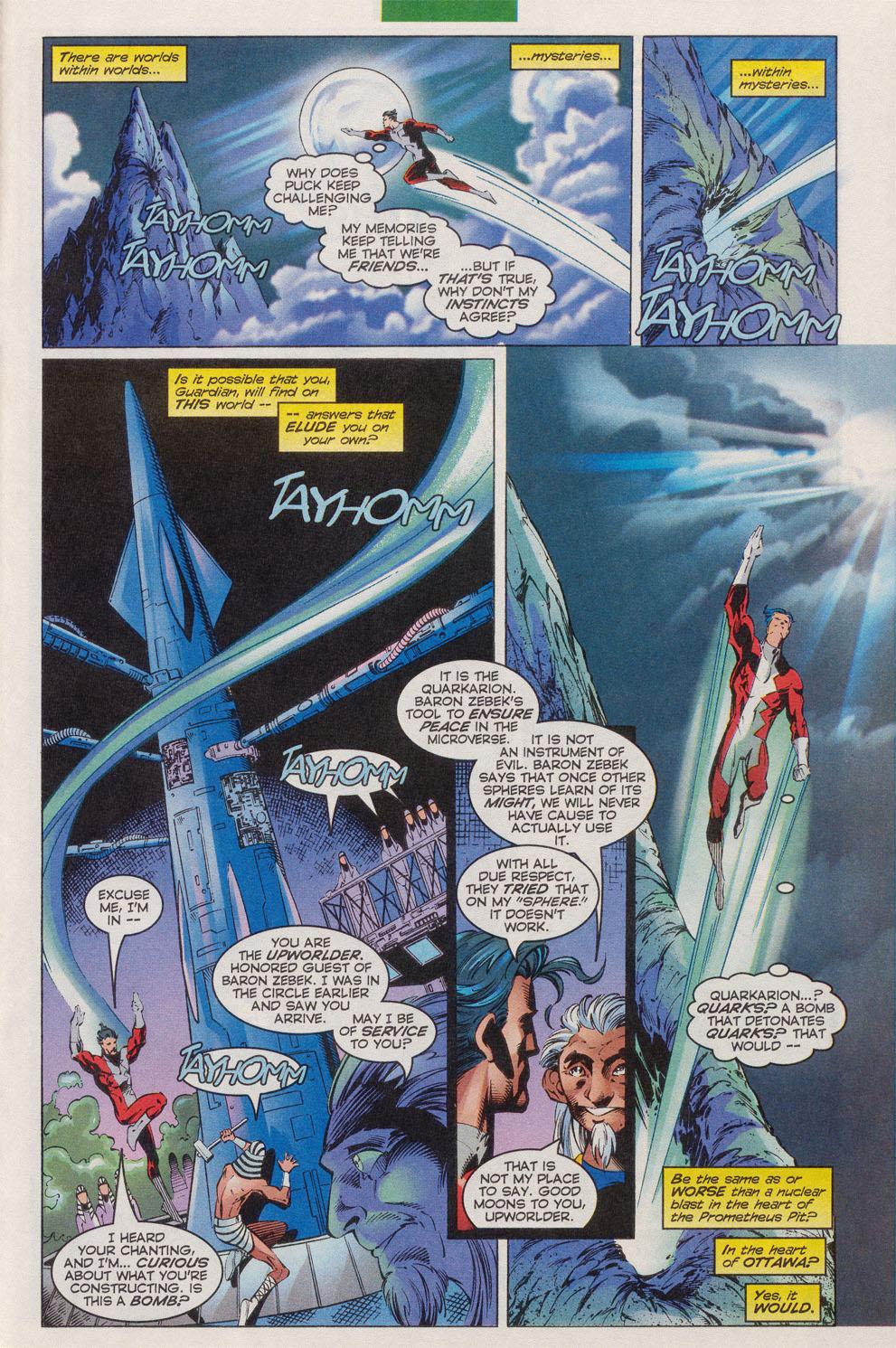 Read online Alpha Flight (1997) comic -  Issue #10 - 21