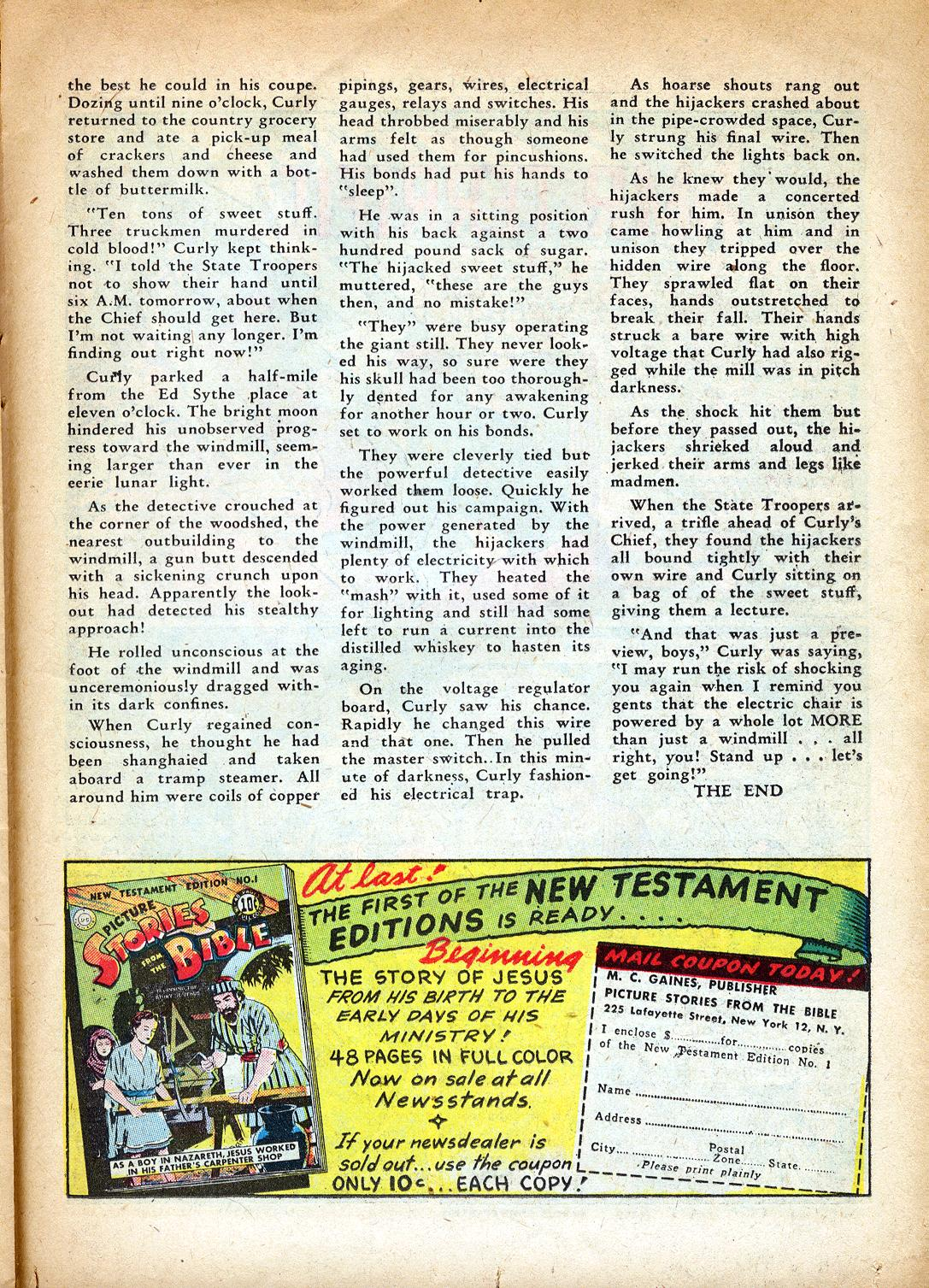 Read online Sensation (Mystery) Comics comic -  Issue #37 - 33