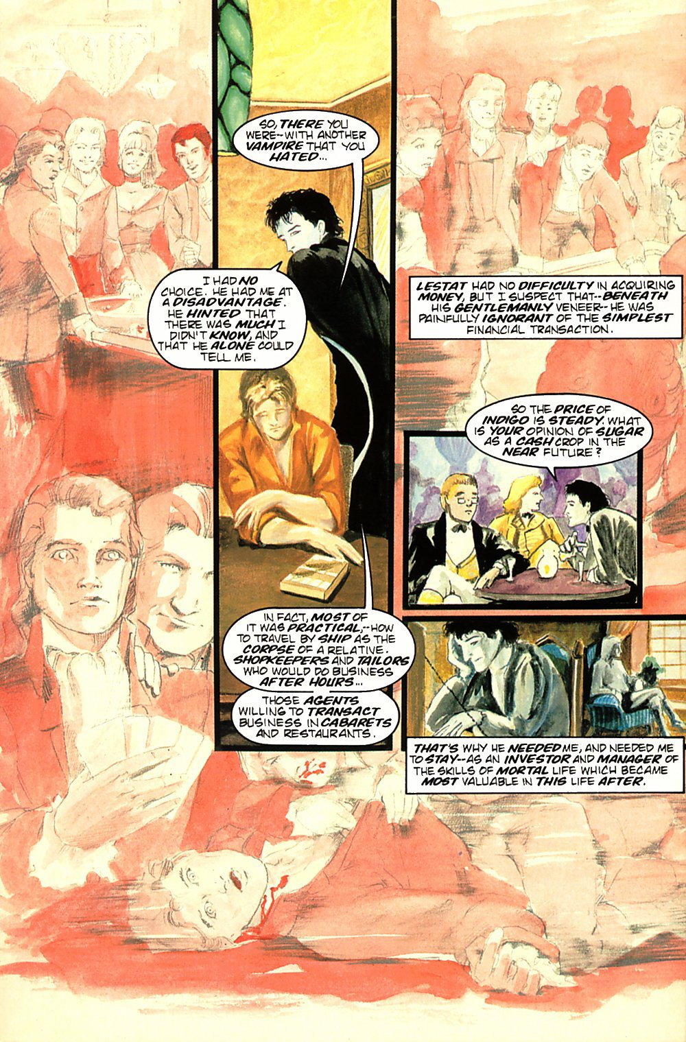 Read online Anne Rice's Interview with the Vampire comic -  Issue #2 - 4