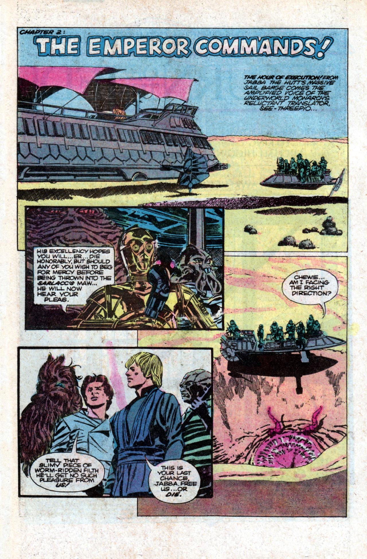 Read online Star Wars: Return of the Jedi comic -  Issue #2 - 4