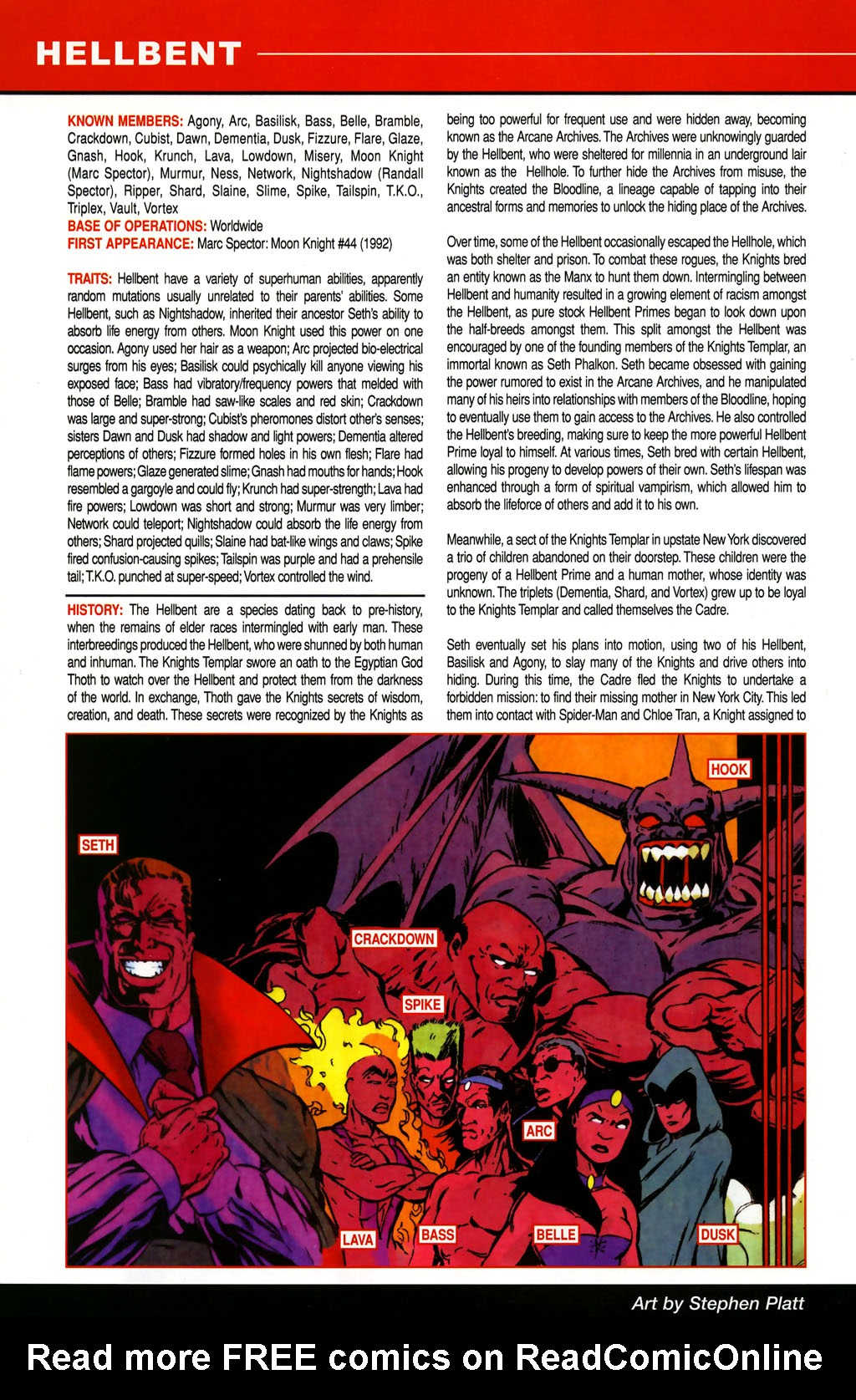 Read online All-New Official Handbook of the Marvel Universe A to Z comic -  Issue #5 - 20