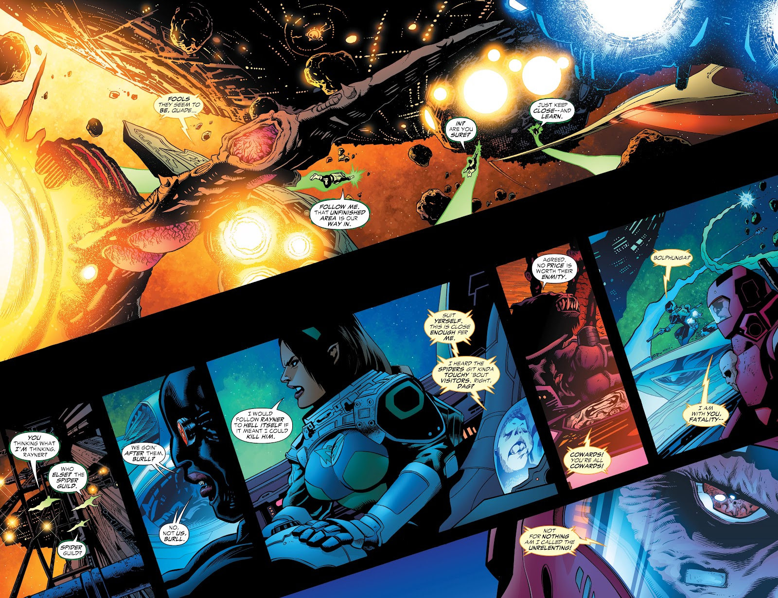Read online Green Lantern by Geoff Johns comic -  Issue # TPB 1 (Part 3) - 54
