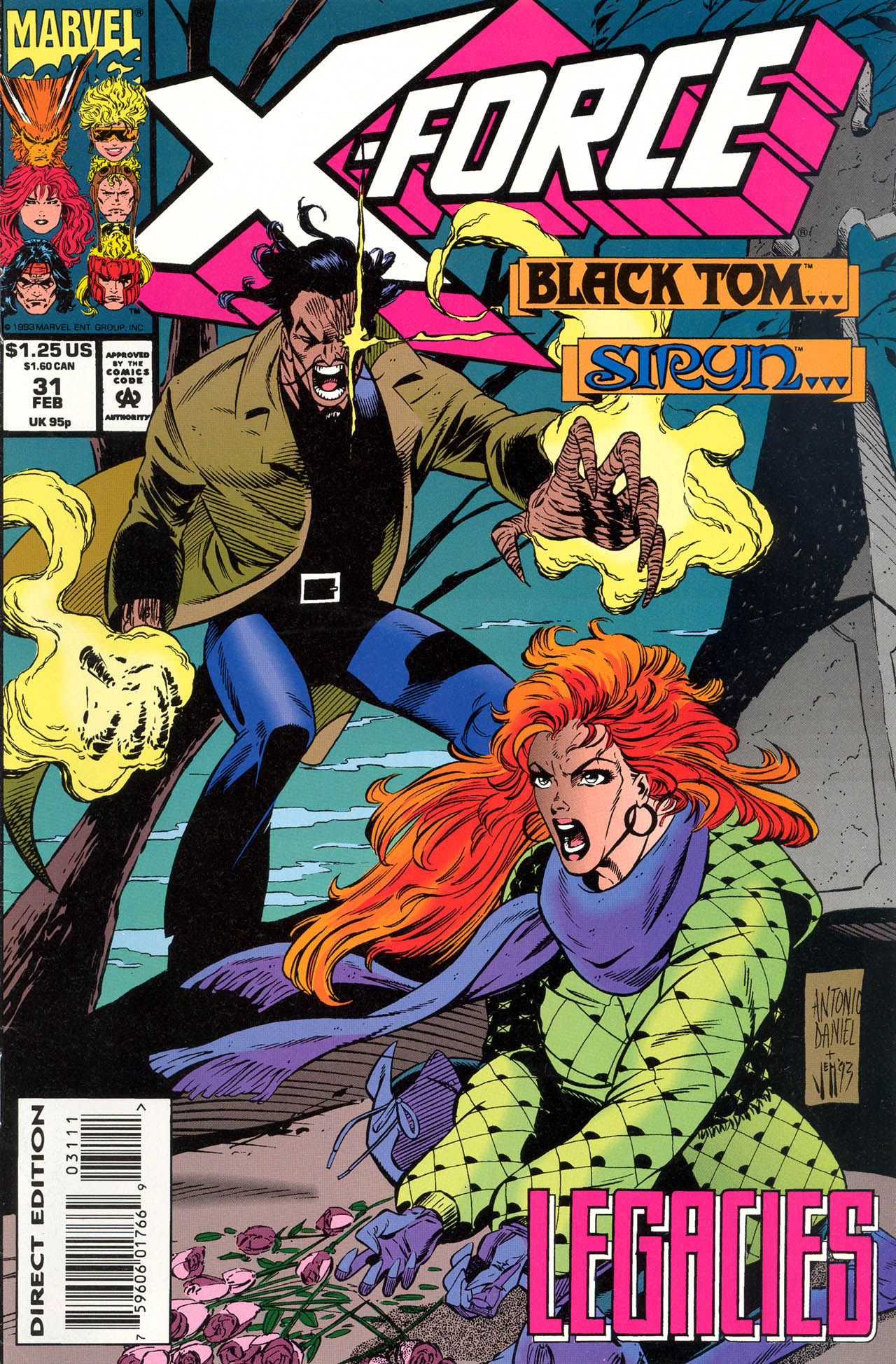Read online X-Force (1991) comic -  Issue #31 - 1