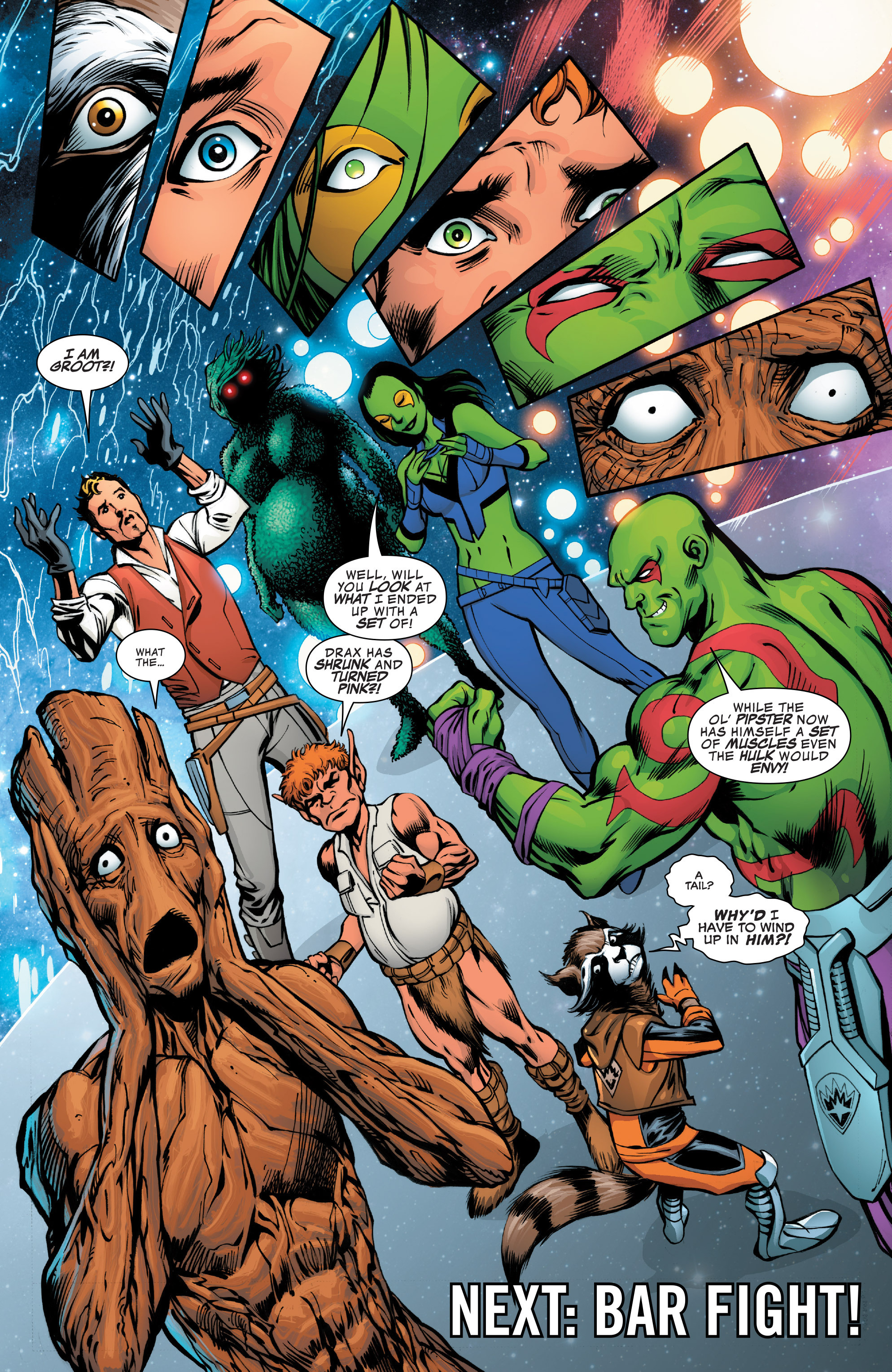 Read online Guardians of the Galaxy: Mother Entropy comic -  Issue #2 - 21