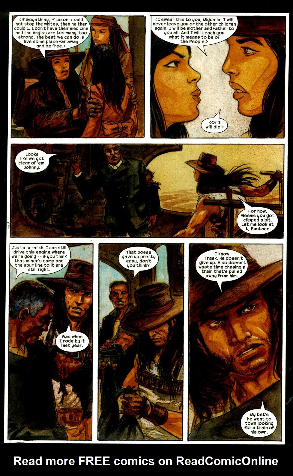 Read online Apache Skies comic -  Issue #4 - 7