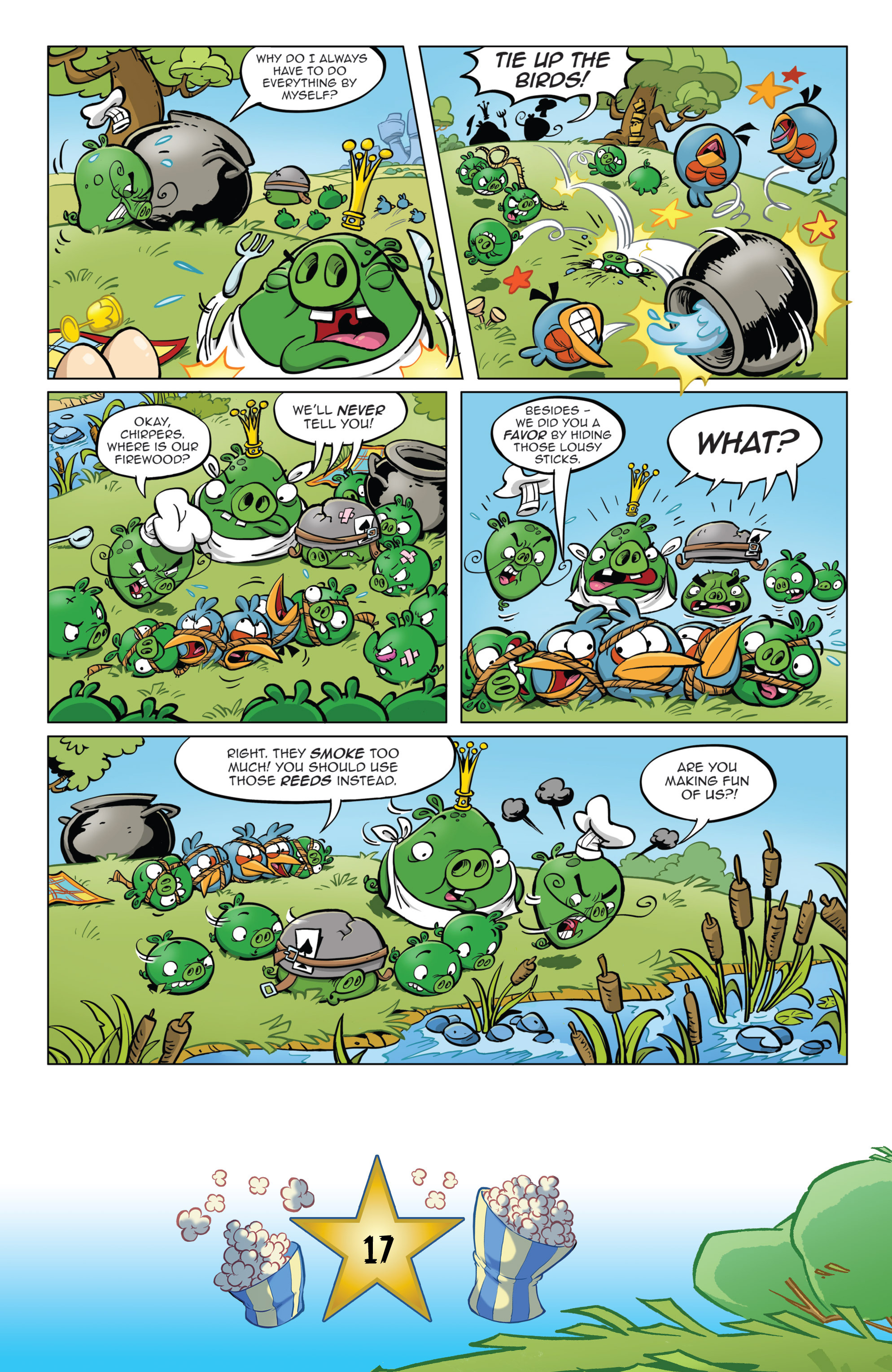 Read online Angry Birds Comics (2016) comic -  Issue #5 - 19