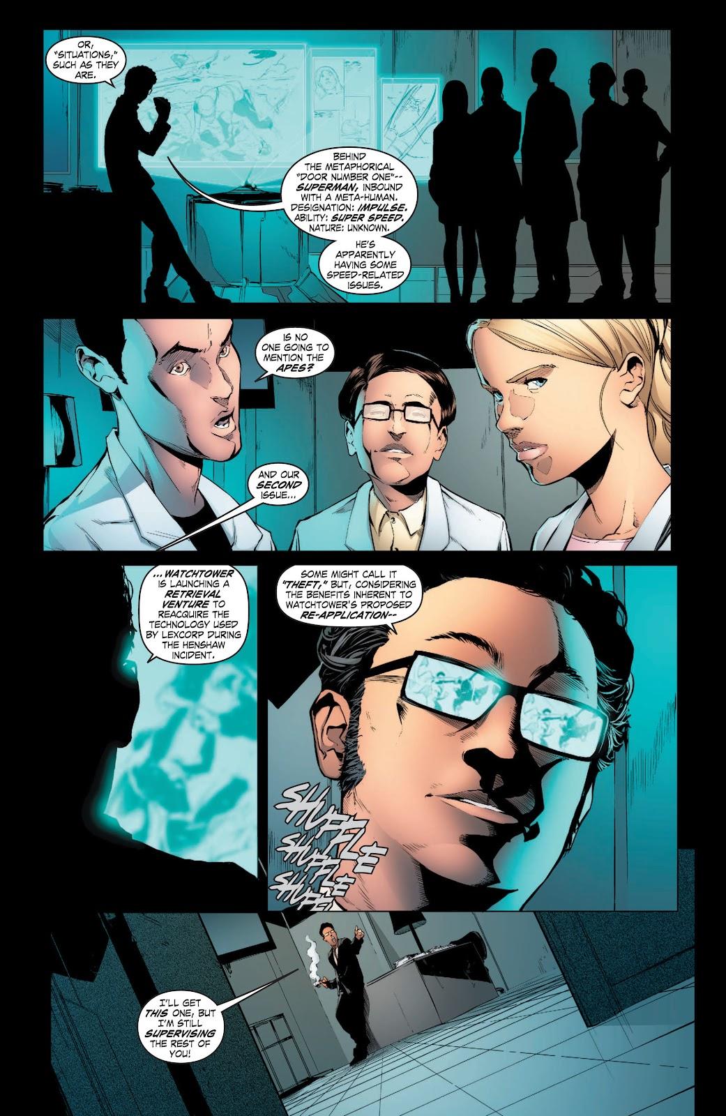 Read online Smallville Season 11 [II] comic -  Issue # TPB 3 - 52