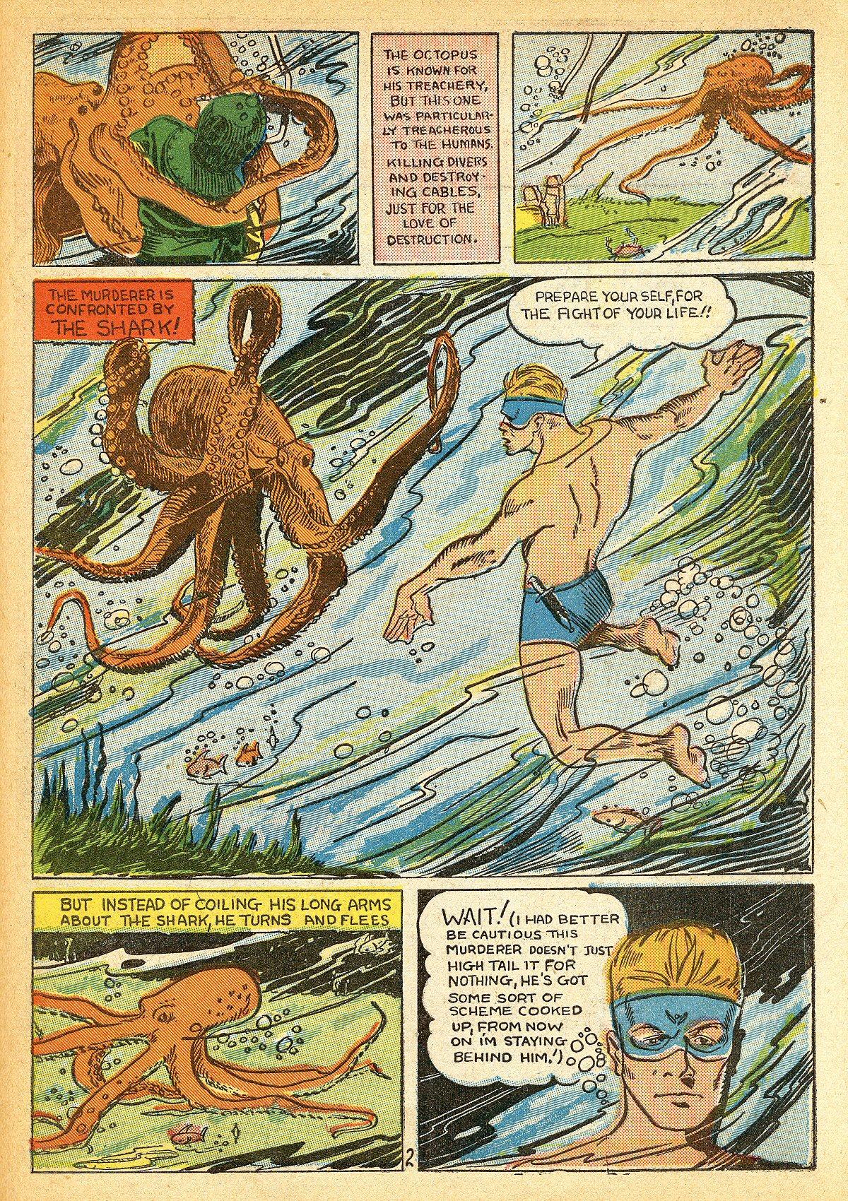 Read online Amazing Man Comics comic -  Issue #10 - 60