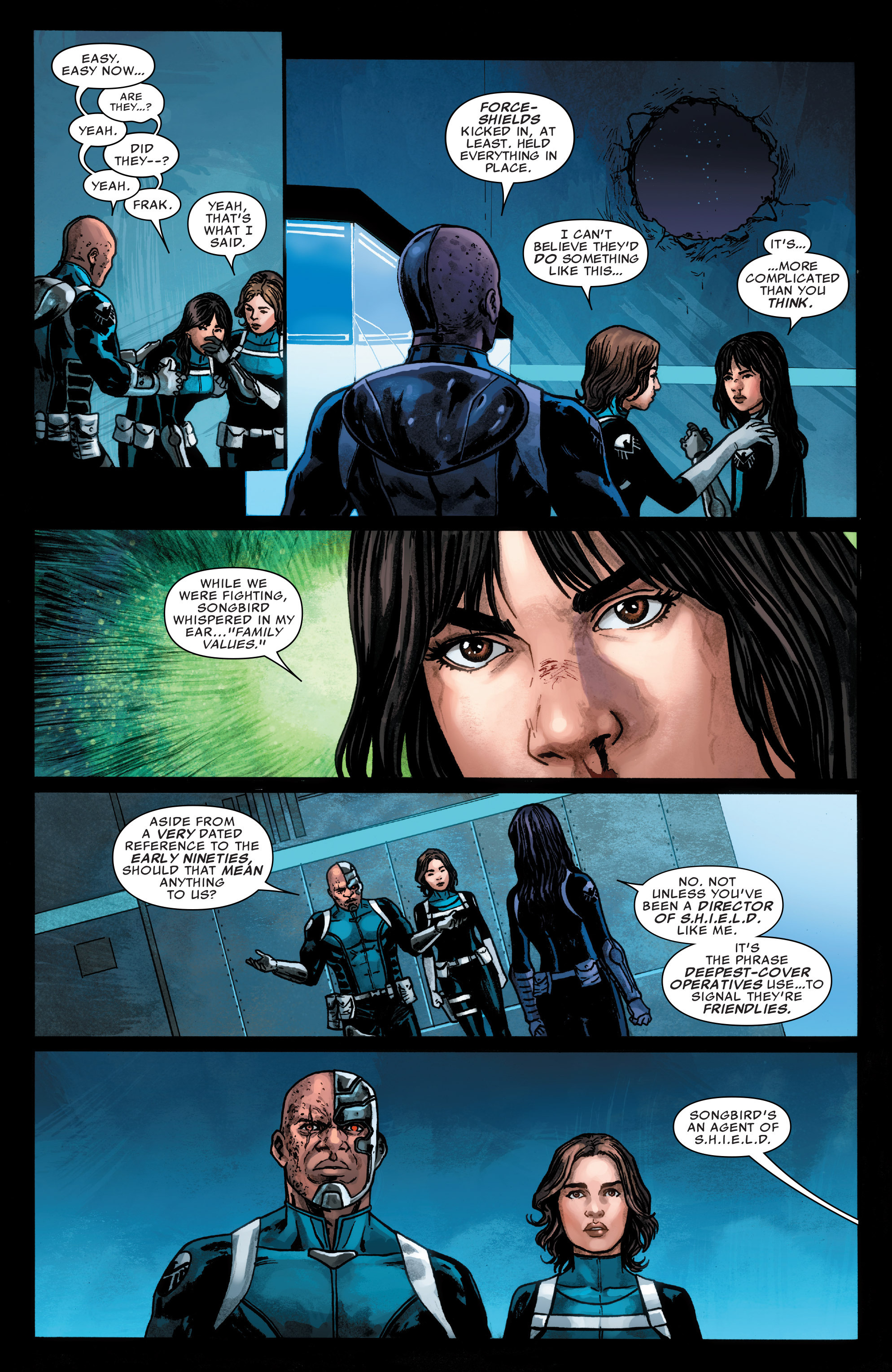 Read online Agents of S.H.I.E.L.D. comic -  Issue #4 - 18