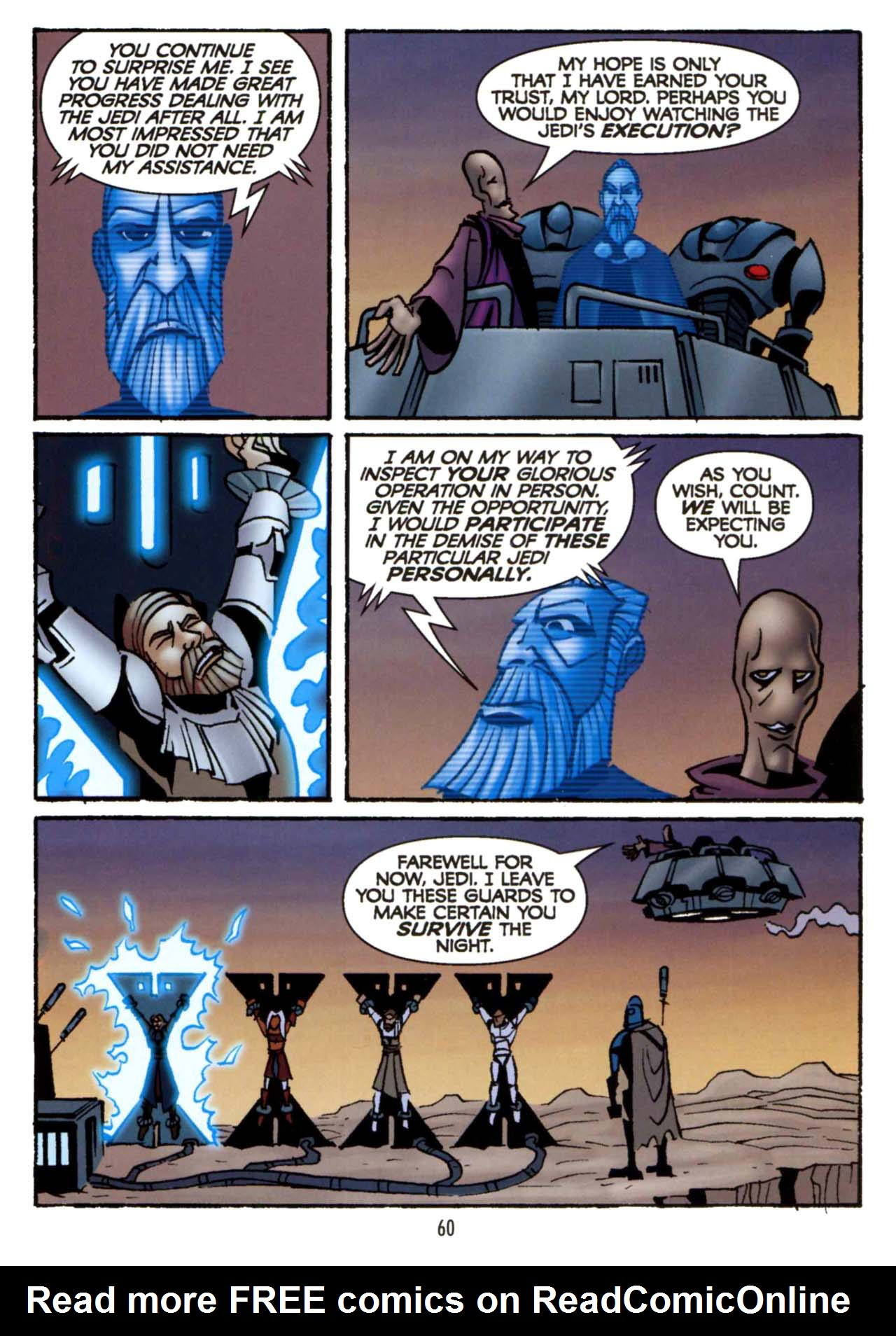 Read online Star Wars: The Clone Wars - Shipyards of Doom comic -  Issue # Full - 58
