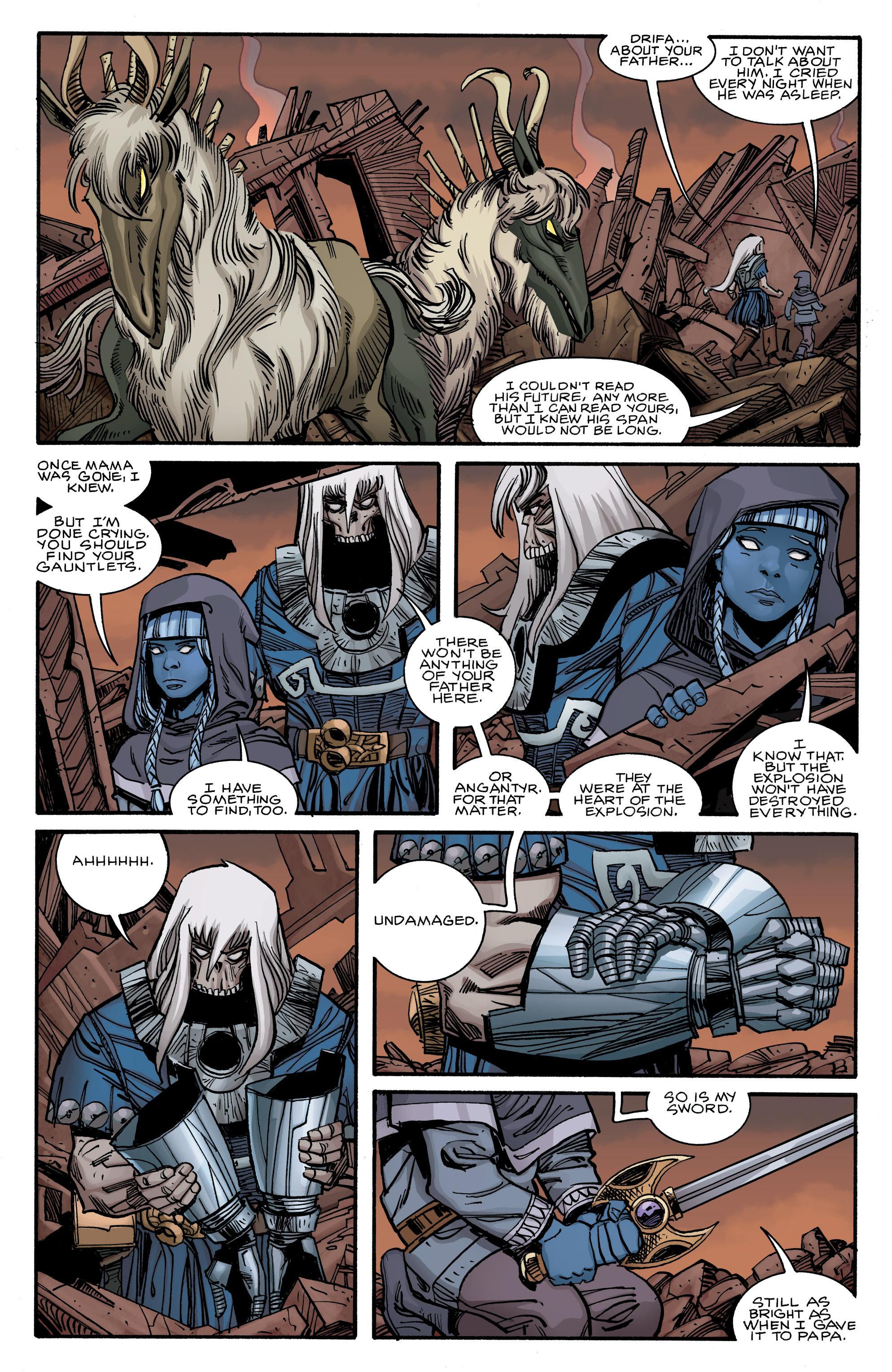 Read online Ragnarok comic -  Issue #12 - 14