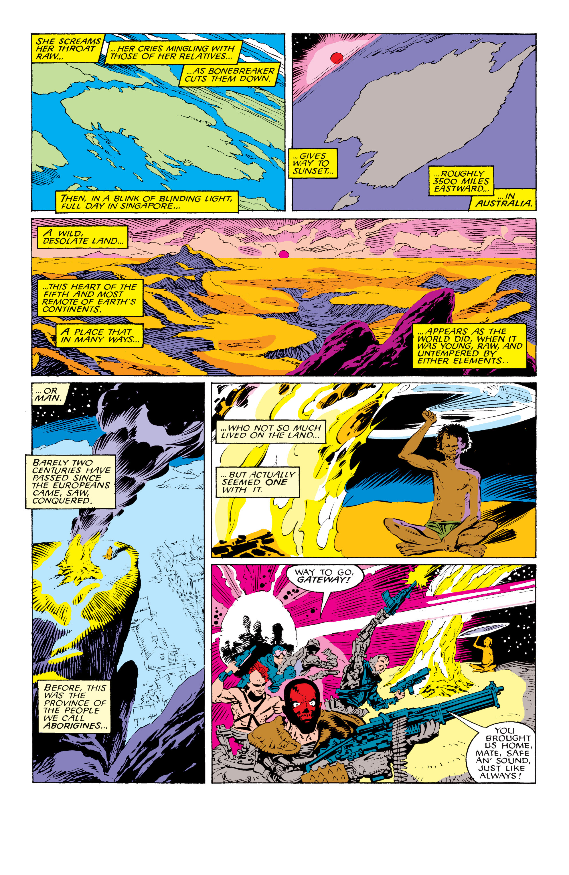 Read online Uncanny X-Men (1963) comic -  Issue #229 - 6