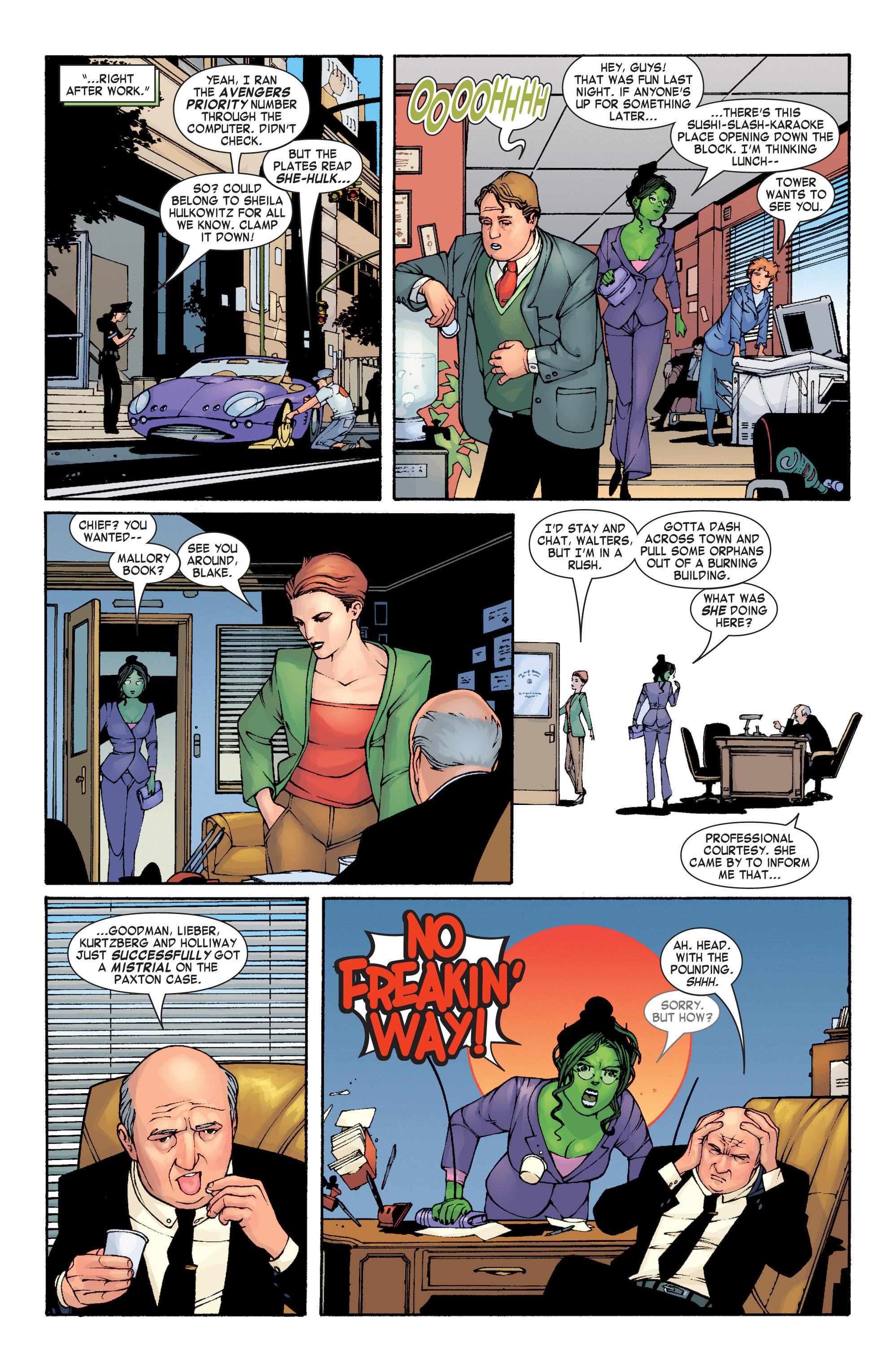 Read online She-Hulk (2004) comic -  Issue #1 - 17