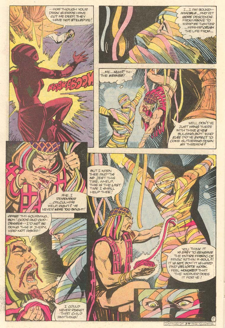 Read online Arion, Lord of Atlantis comic -  Issue #33 - 18