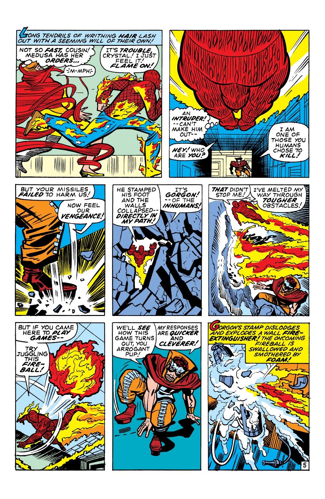 Read online Marvel Masterworks: The Inhumans comic -  Issue # TPB 1 (Part 1) - 85