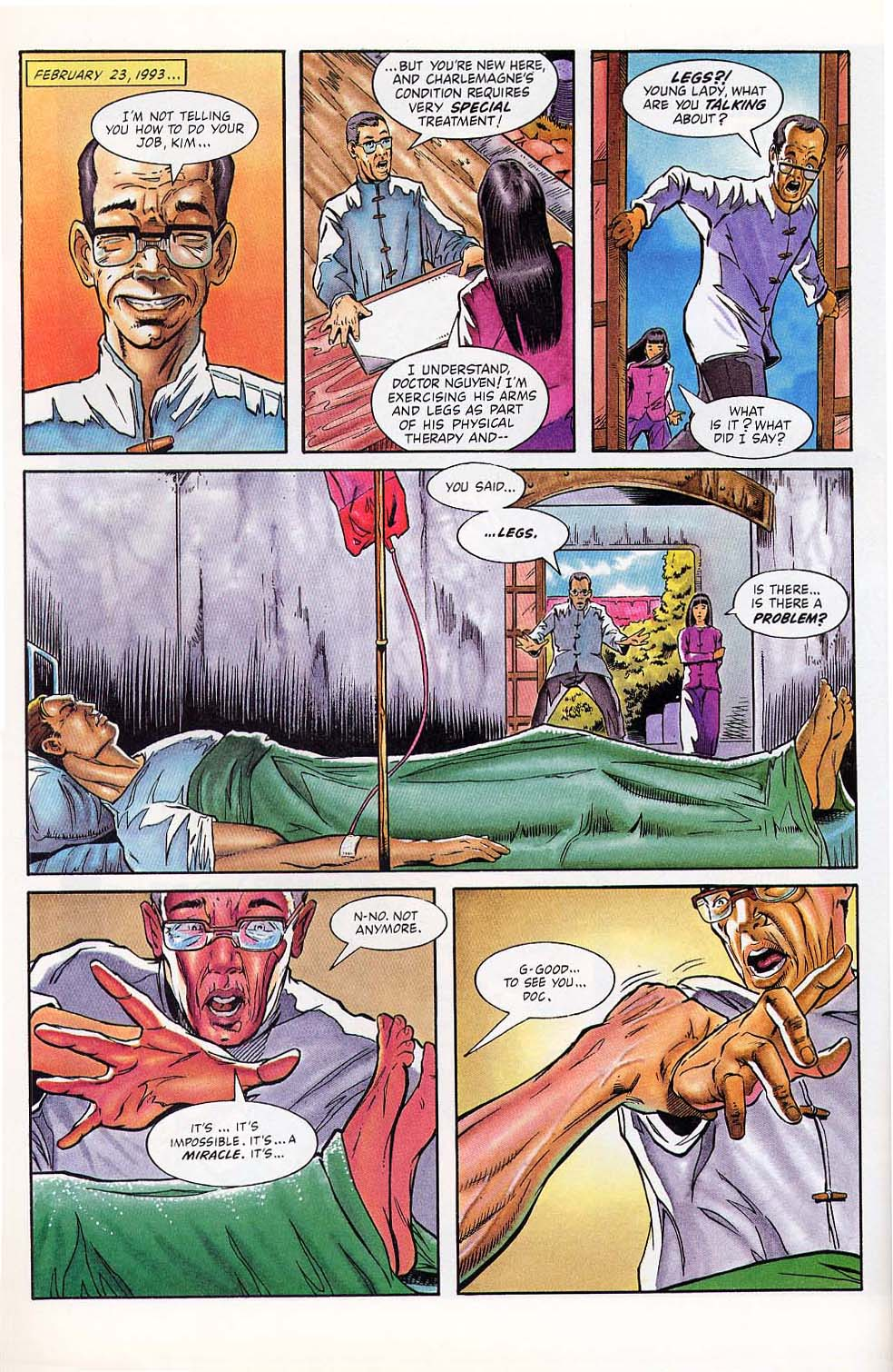 Read online Charlemagne comic -  Issue #1 - 32