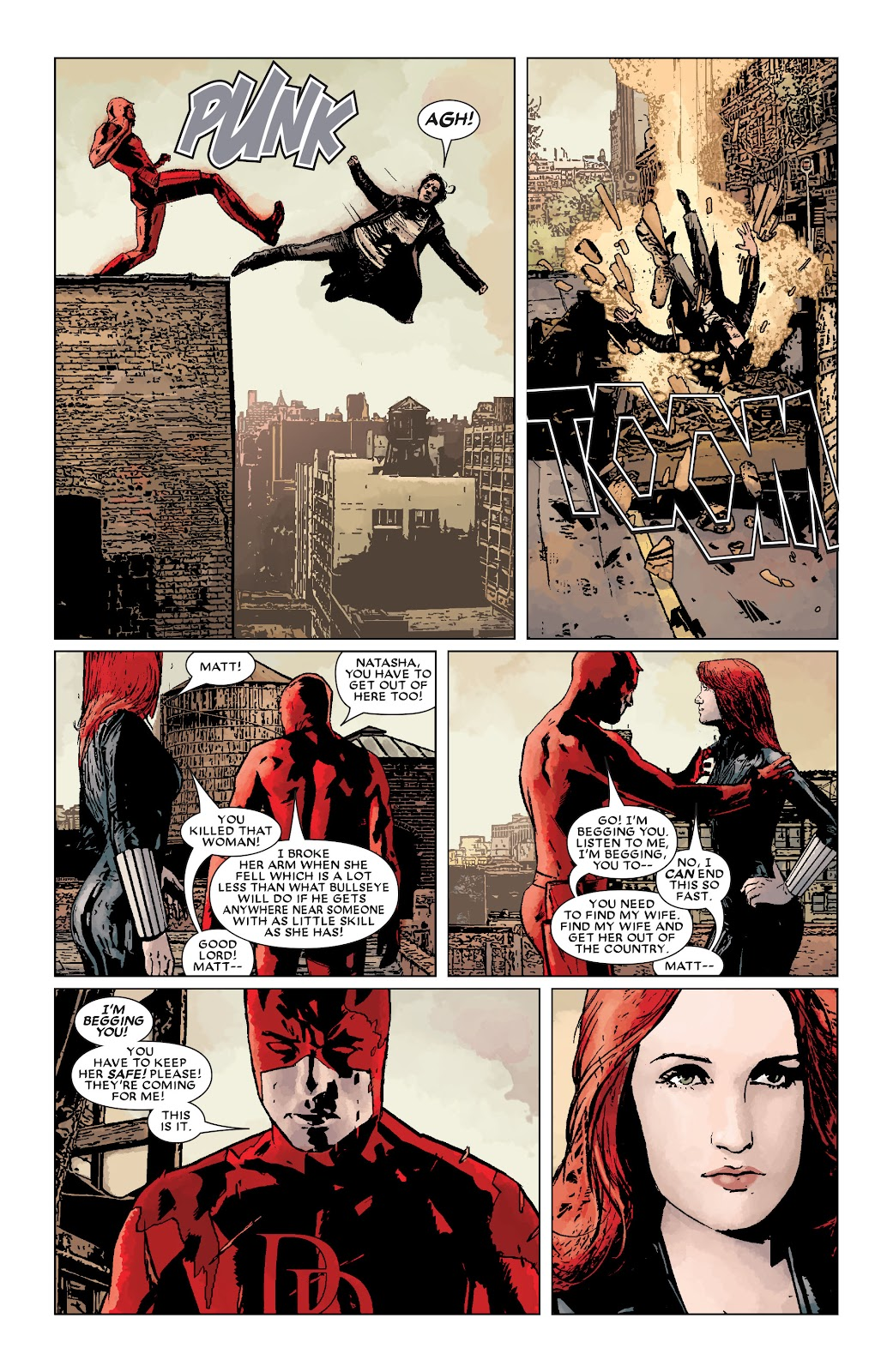 Read online Daredevil (1998) comic -  Issue # _Ultimate_Collection TPB 3 (Part 3) - 93