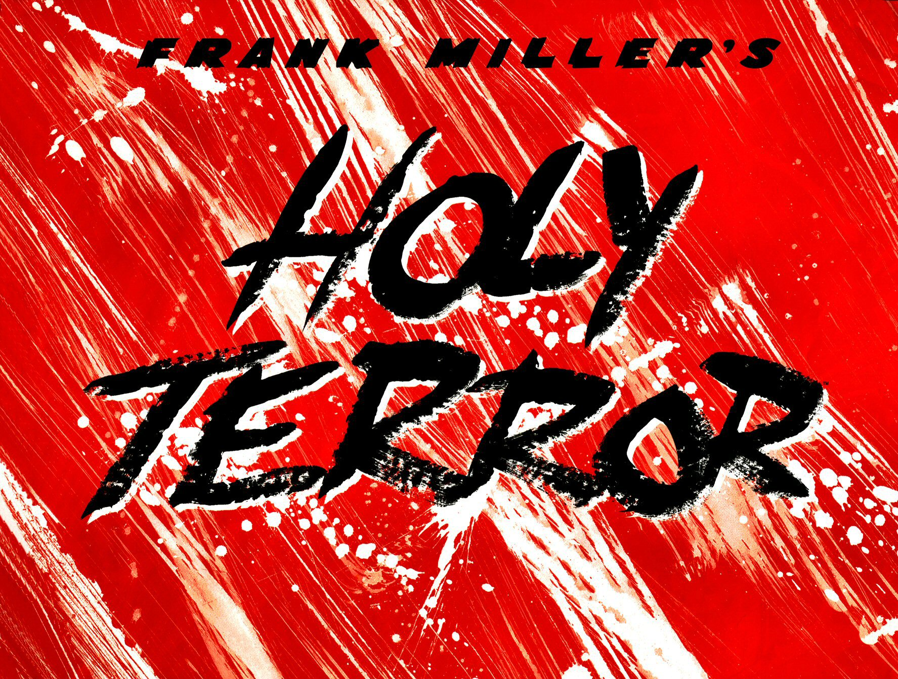 Read online Frank Miller's Holy Terror comic -  Issue # TPB - 5