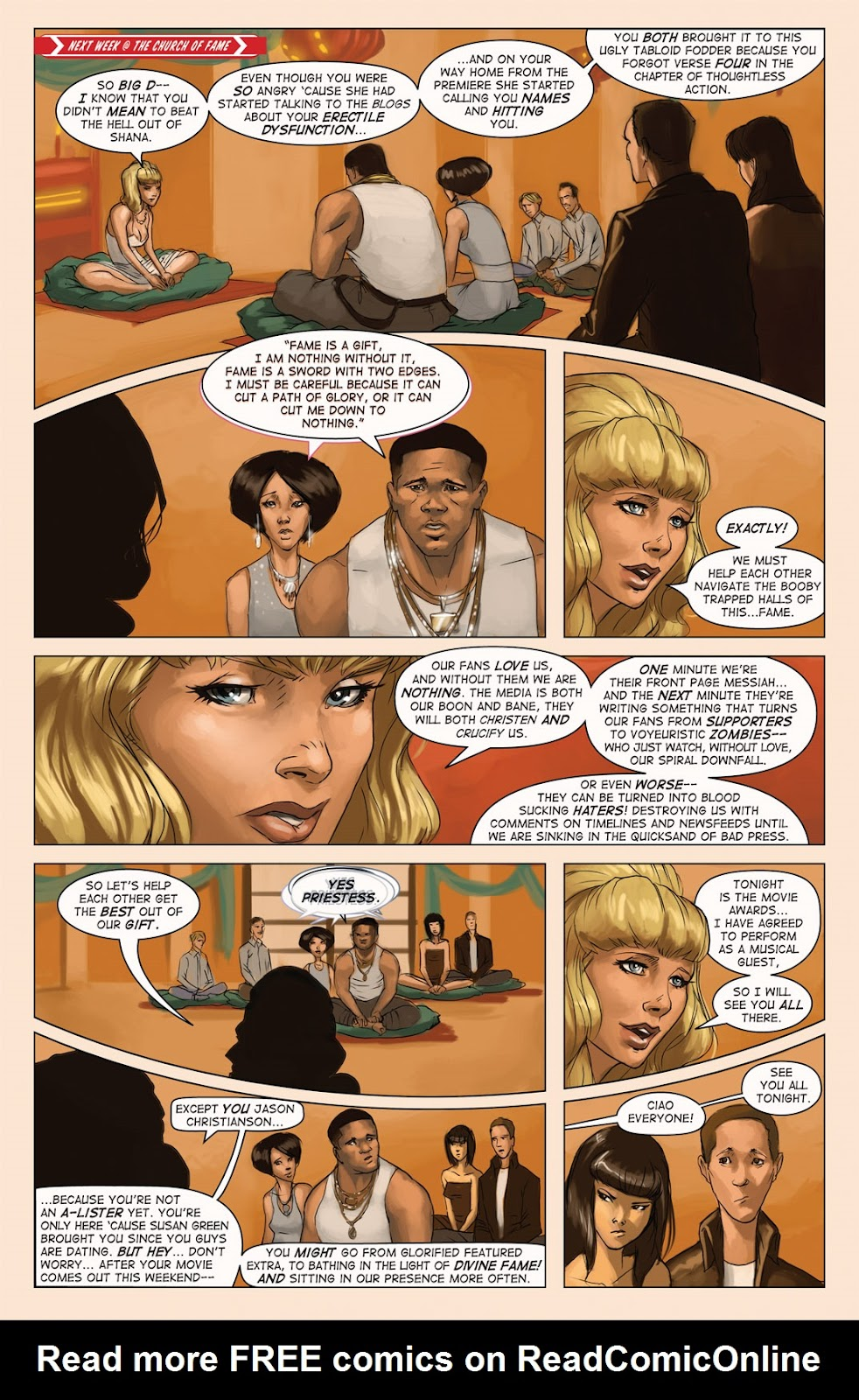 Read online Vescell comic -  Issue #4 - 14