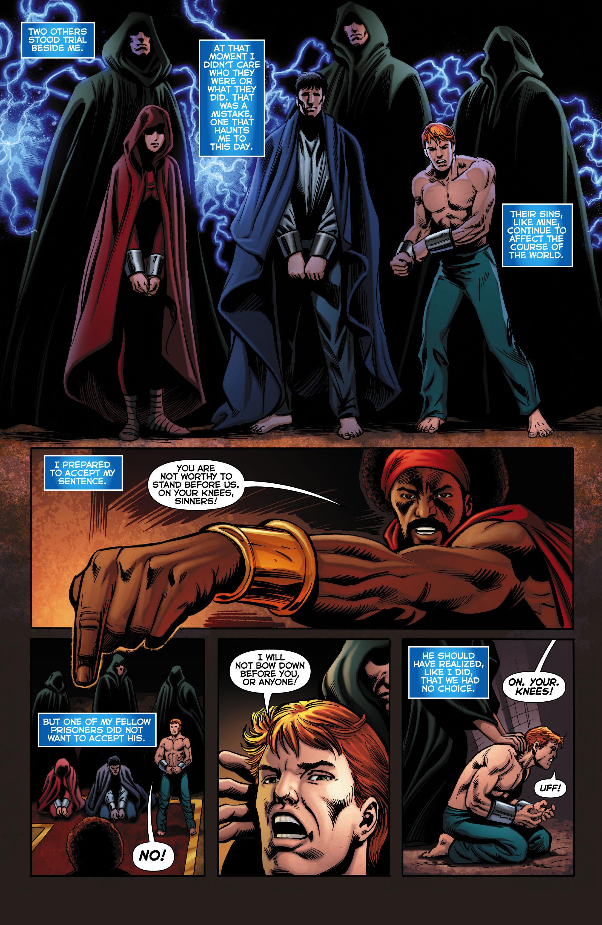 Read online Trinity of Sin: The Phantom Stranger comic -  Issue #0 - 4