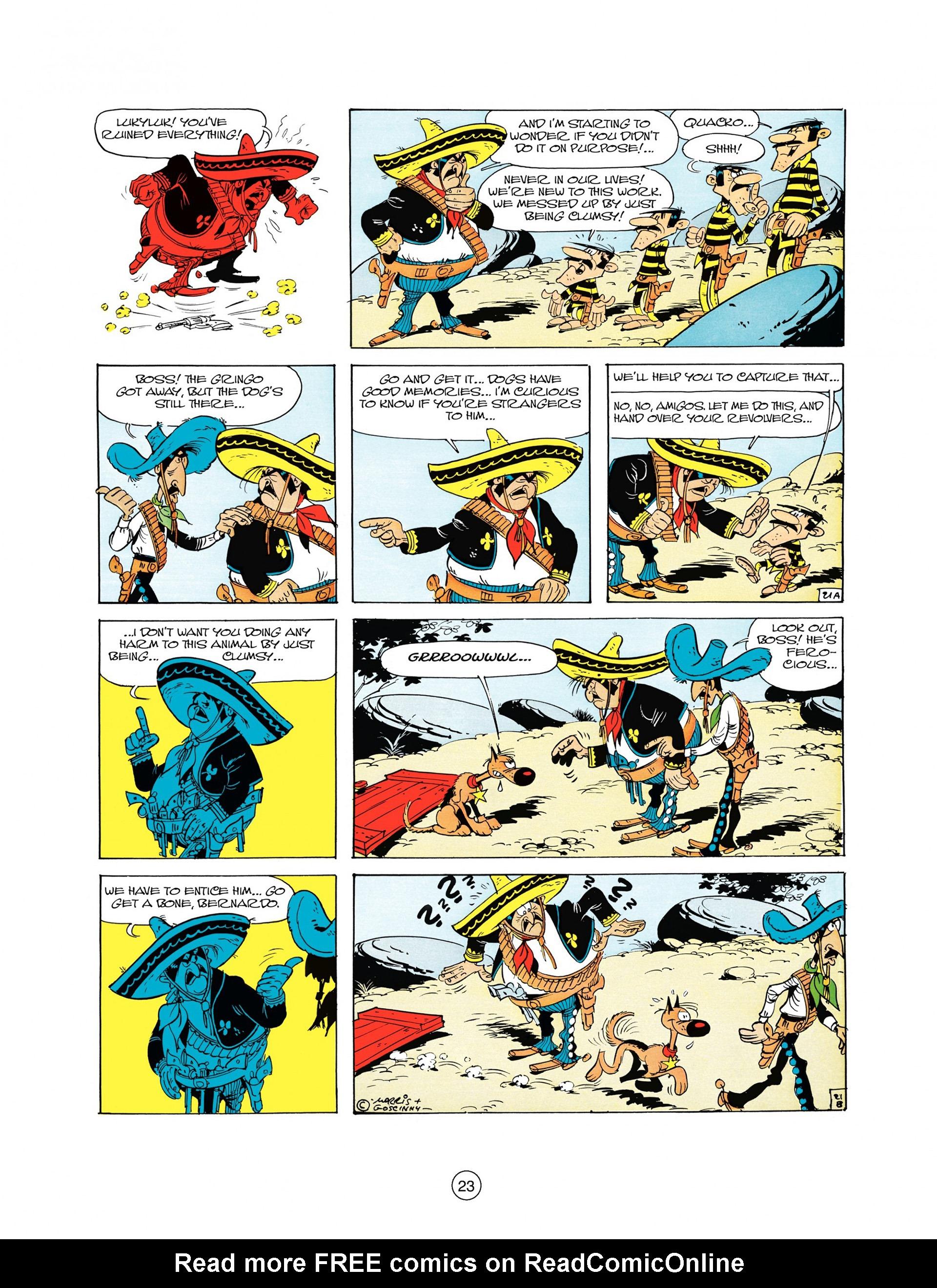 Read online A Lucky Luke Adventure comic -  Issue #10 - 23
