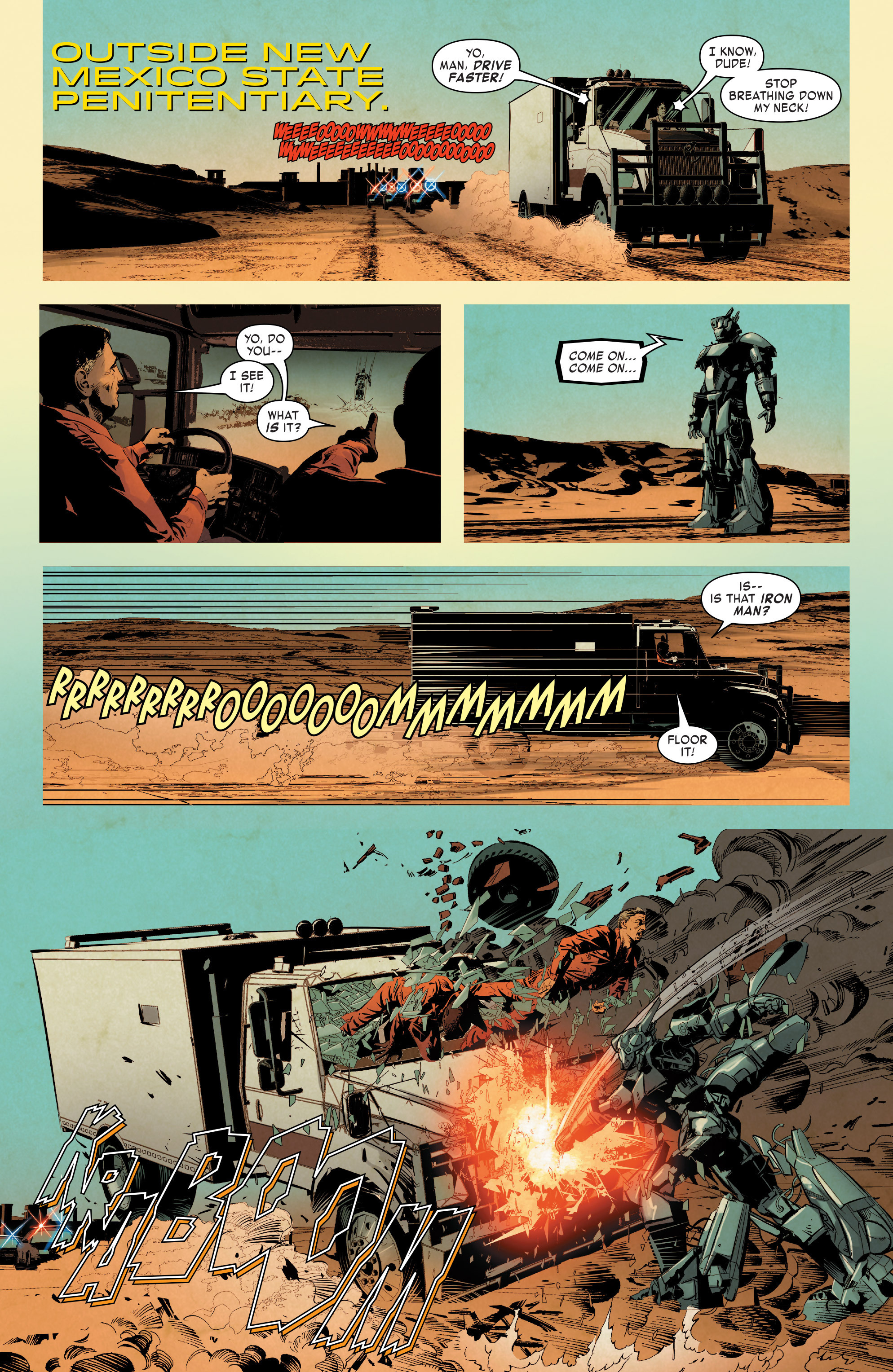 Read online True Believers: Invincible Iron Man-The War Machines comic -  Issue # Full - 114