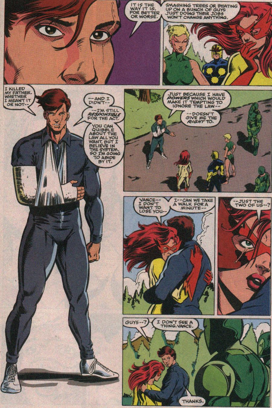 The New Warriors Issue #26 #30 - English 21