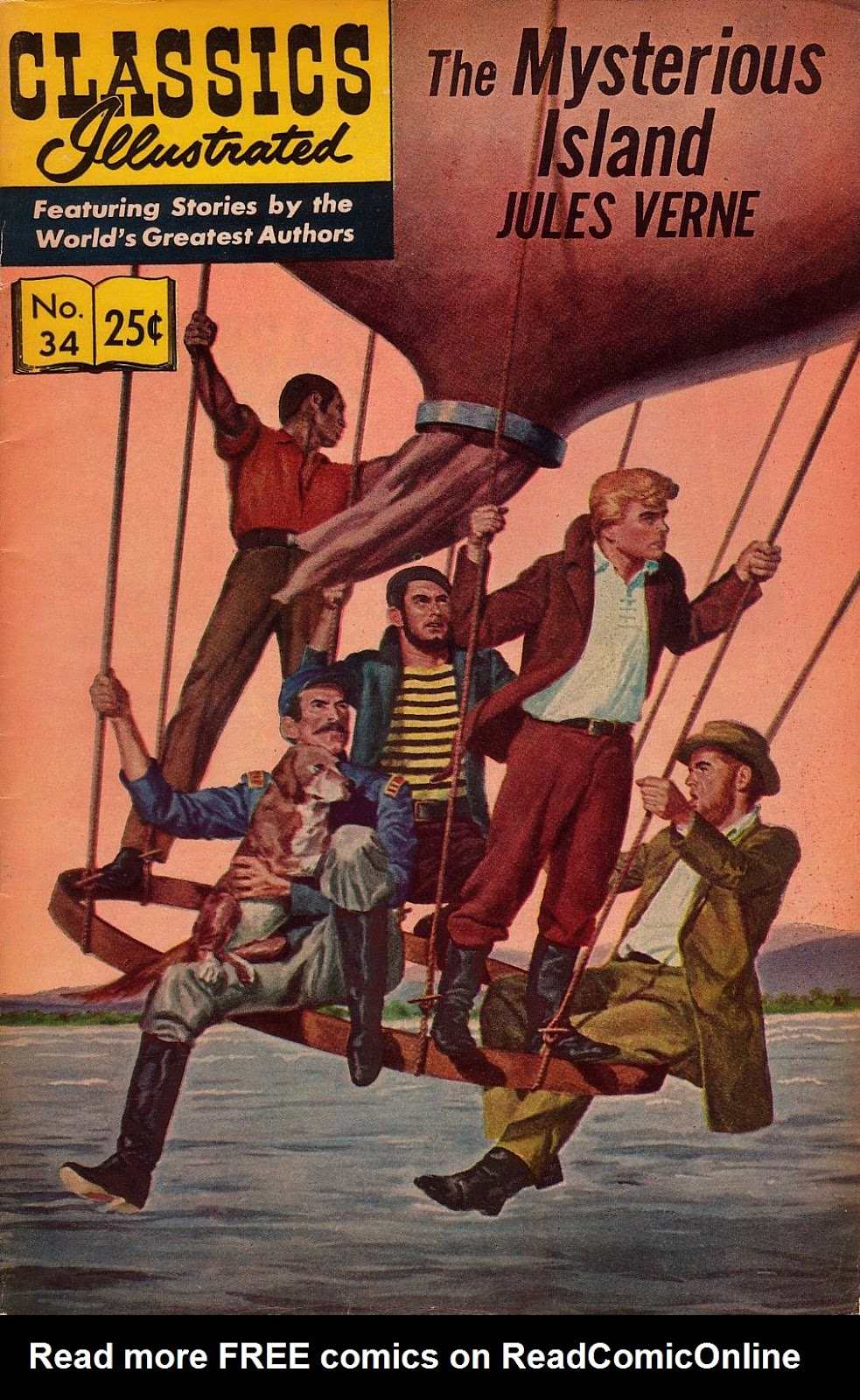 Classics Illustrated 34 Page 1
