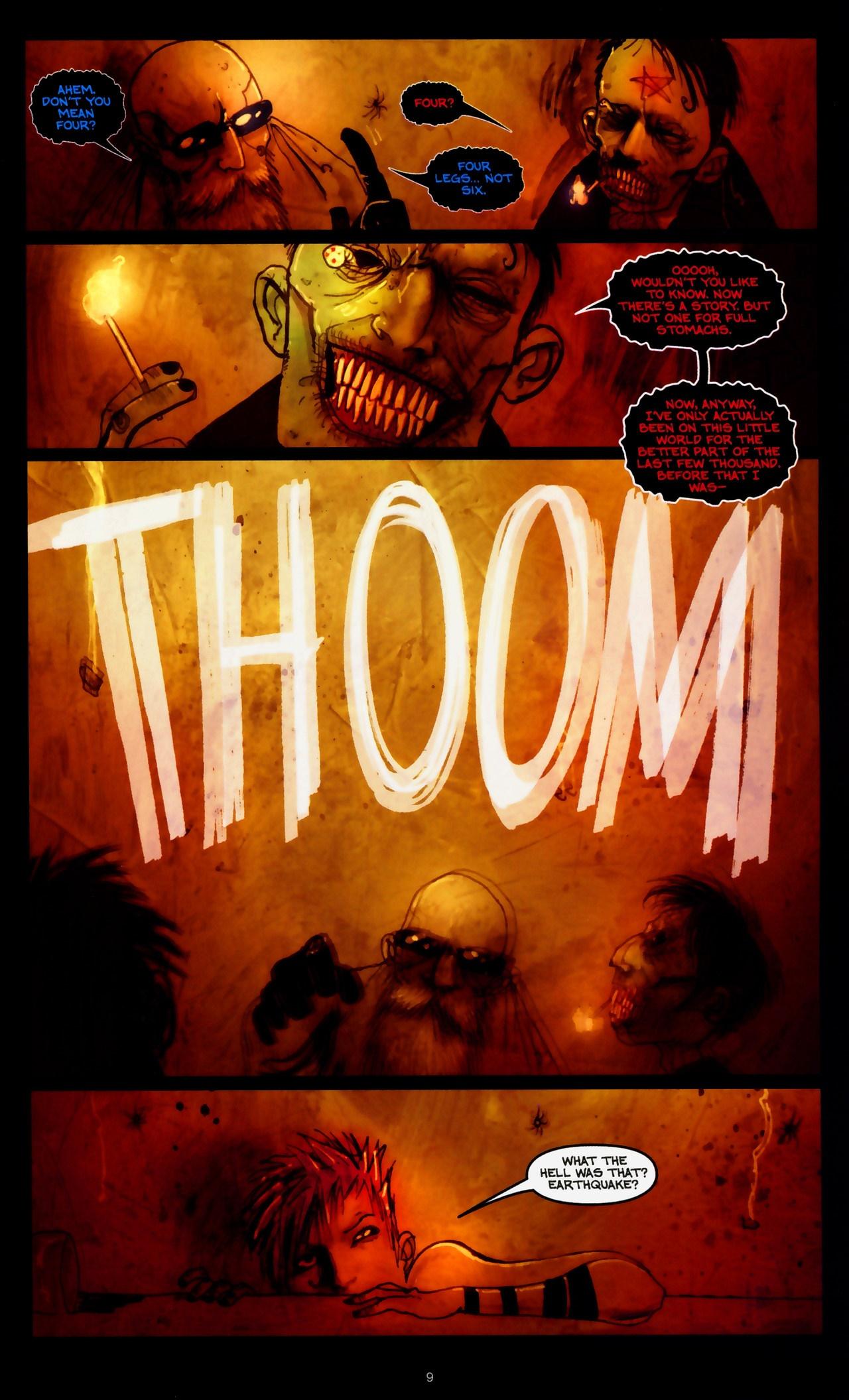 Read online Wormwood: Gentleman Corpse comic -  Issue #9 - 11