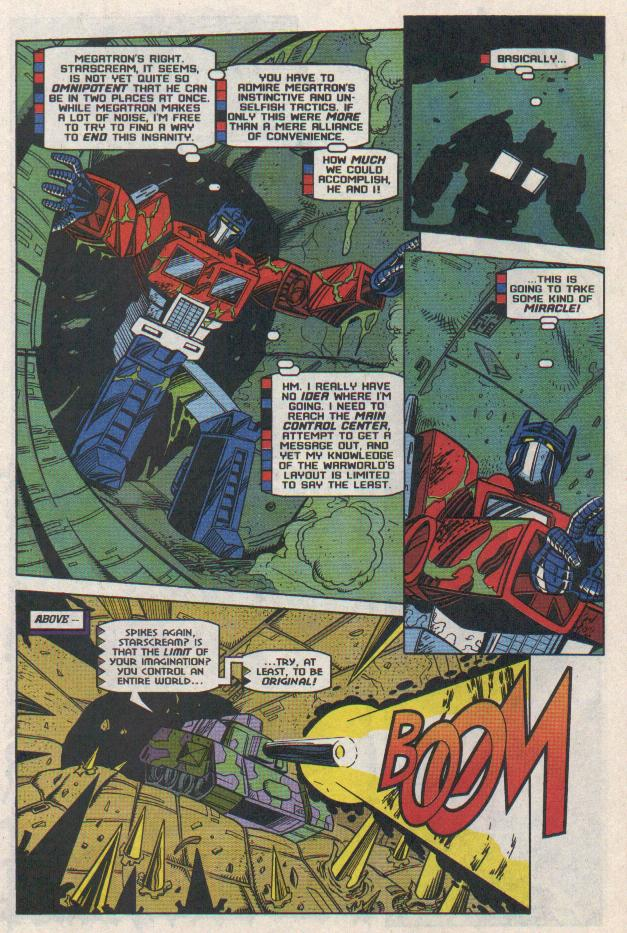Read online Transformers: Generation 2 comic -  Issue #11 - 13