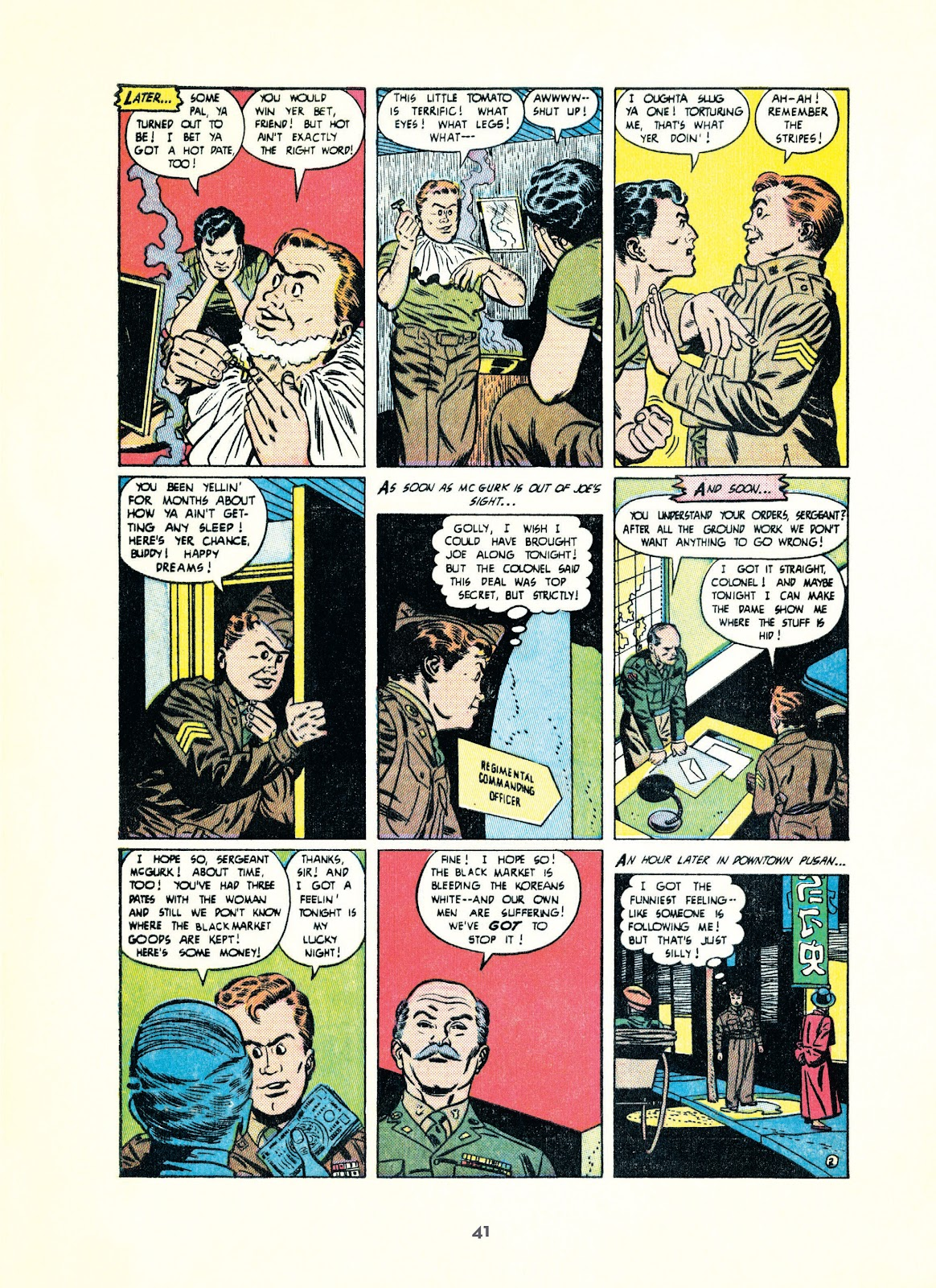 Read online Setting the Standard: Comics by Alex Toth 1952-1954 comic -  Issue # TPB (Part 1) - 40