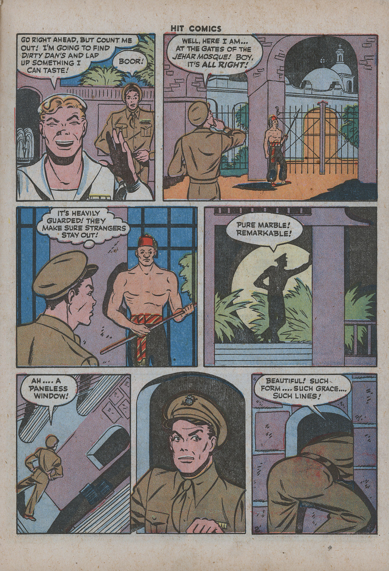 Read online Hit Comics comic -  Issue #38 - 50