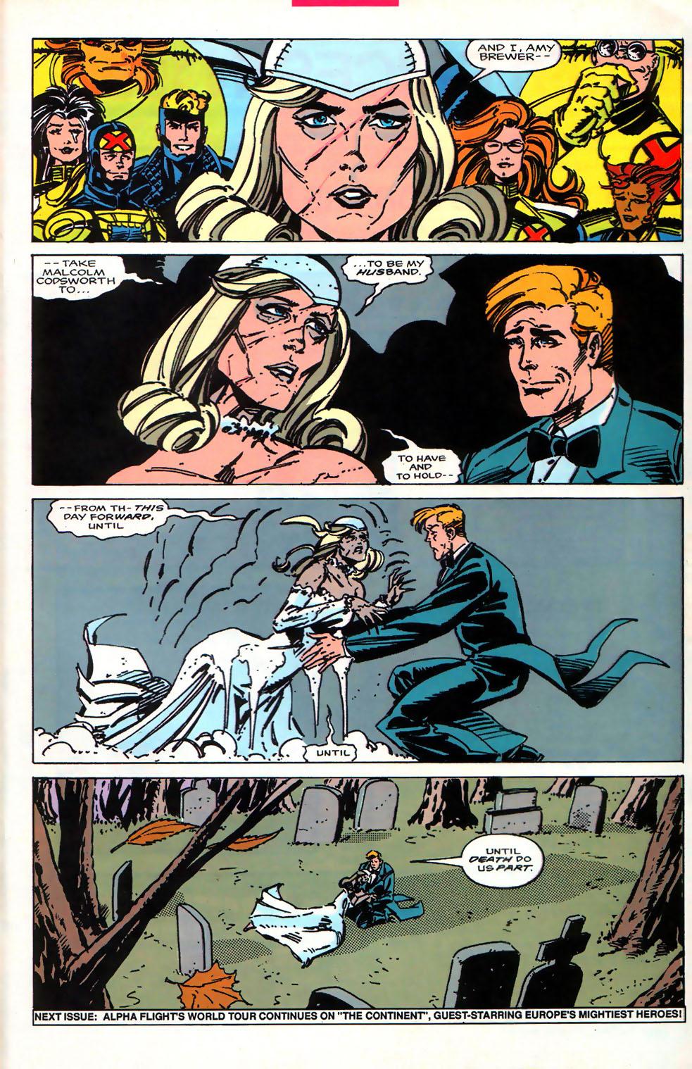 Read online Alpha Flight (1983) comic -  Issue #107 - 24