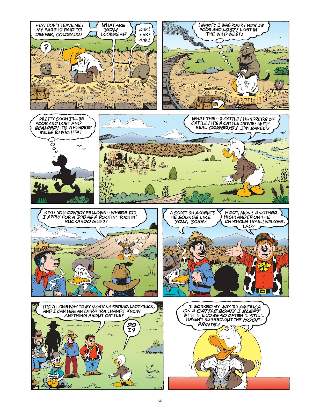 Read online The Complete Life and Times of Scrooge McDuck comic -  Issue # TPB 1 (Part 1) - 55