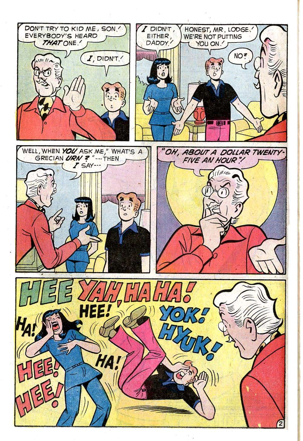 Read online Archie (1960) comic -  Issue #237 - 14