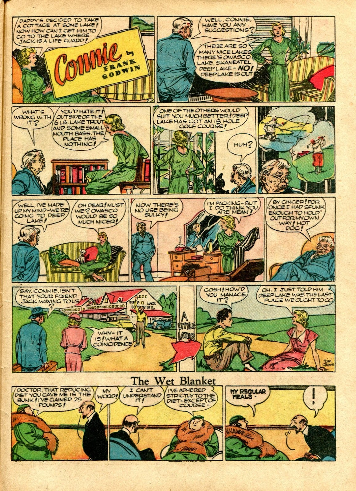 Read online Famous Funnies comic -  Issue #72 - 57