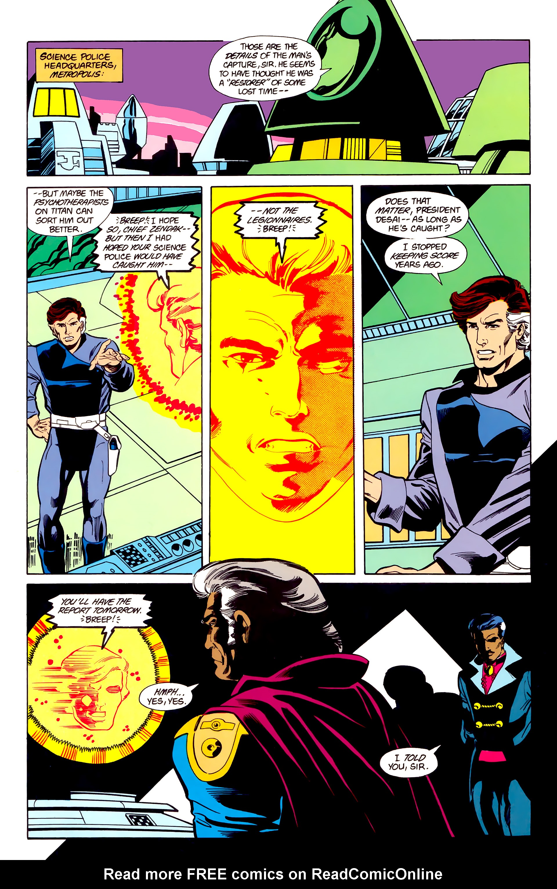 Legion of Super-Heroes (1984) 22 Page 28