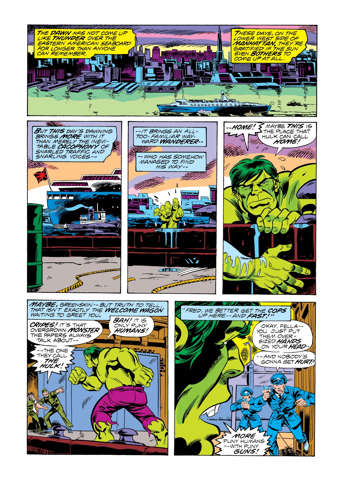 Read online Marvel Masterworks: The Incredible Hulk comic -  Issue # TPB 11 (Part 2) - 87