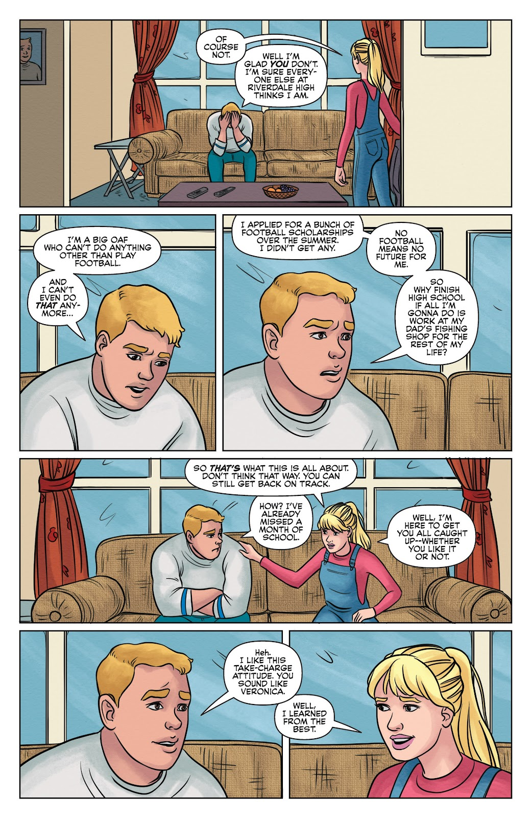 Read online Betty & Veronica (2019) comic -  Issue #2 - 9