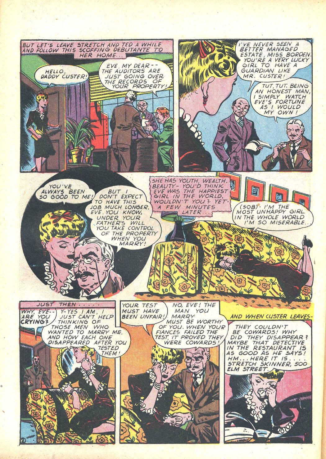 Read online Sensation (Mystery) Comics comic -  Issue #23 - 50